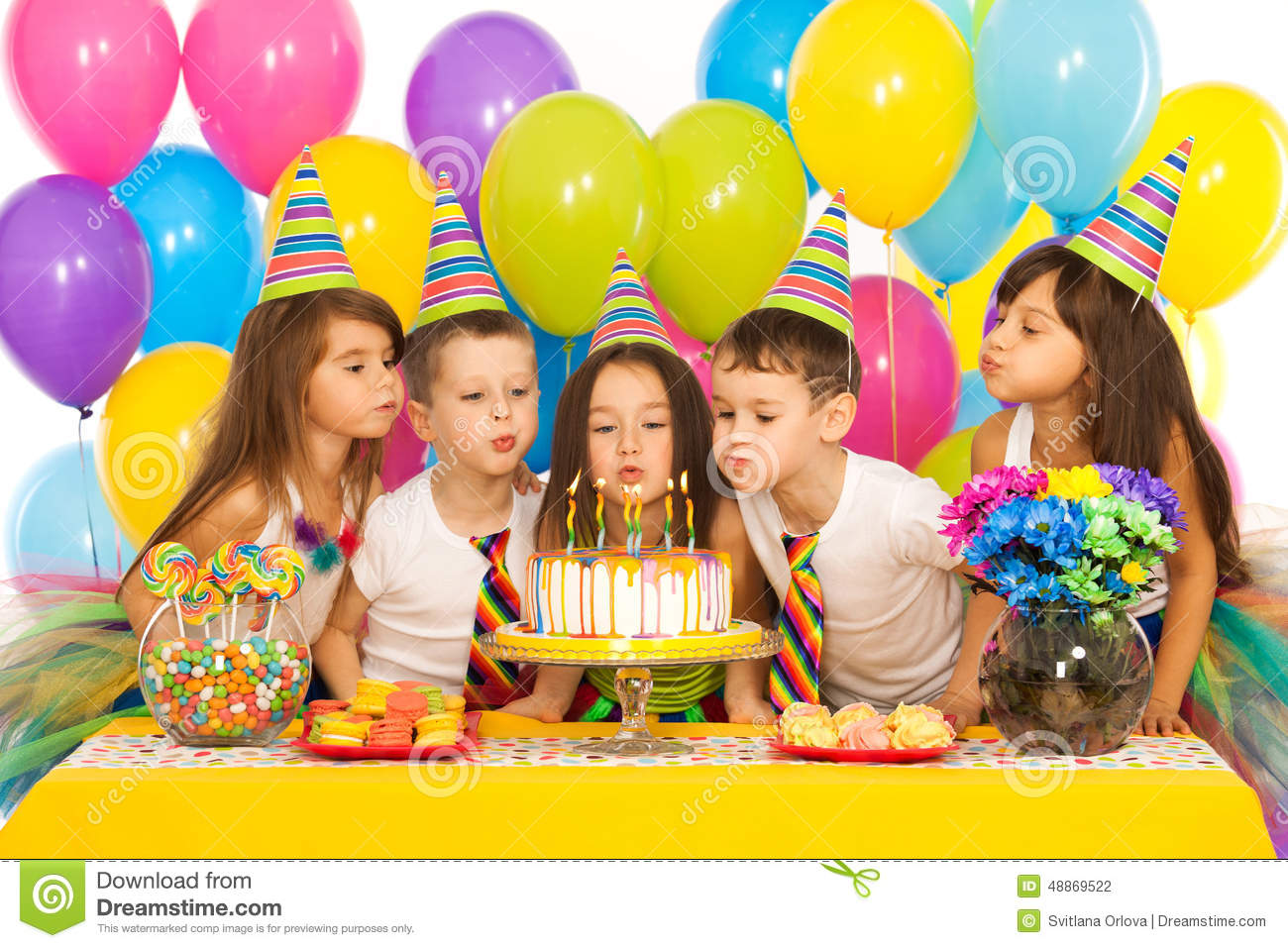 kids celebrating birthday party and blowing stock photo Ethics Clip Art Learning Styles Clip Art