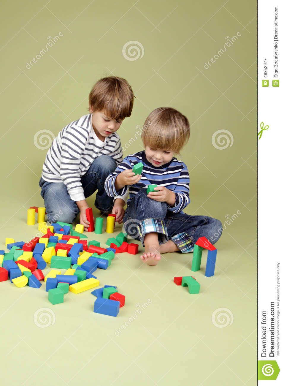 Kids And Teens Miss World The Most Beautiful Woman In The: Kids, Children Sharing And Playing Together Stock Photo
