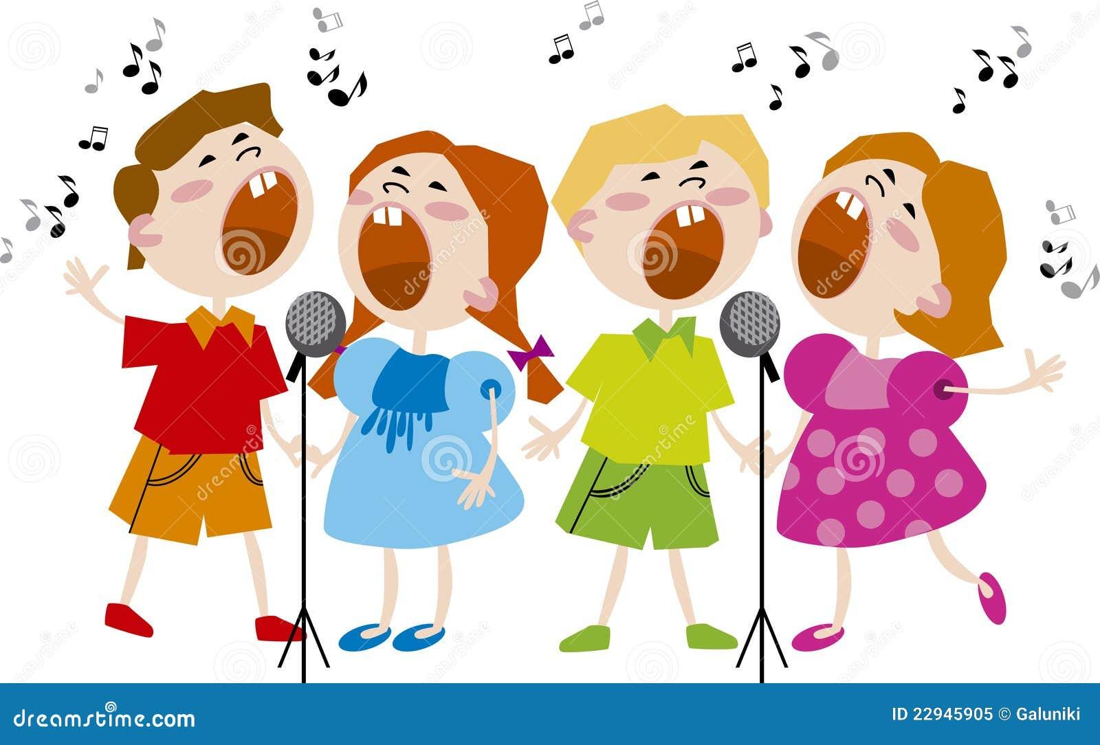 Kids Choir Royalty Free Stock Photo - Image: 22945905