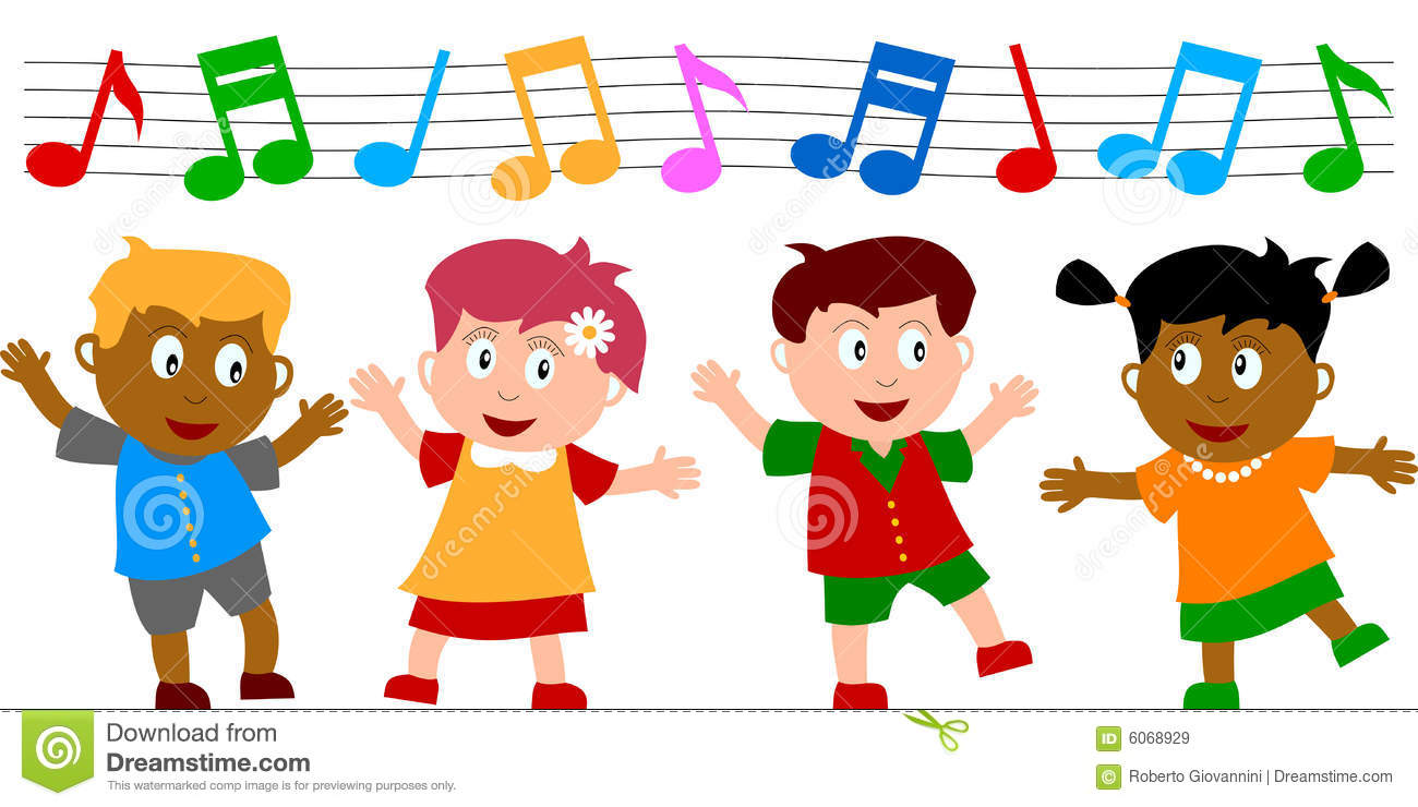 kids dancing stock vector illustration of energy colours 6068929 rh dreamstime com Dancing Girl Clip Art Dancing Couple Clip Art