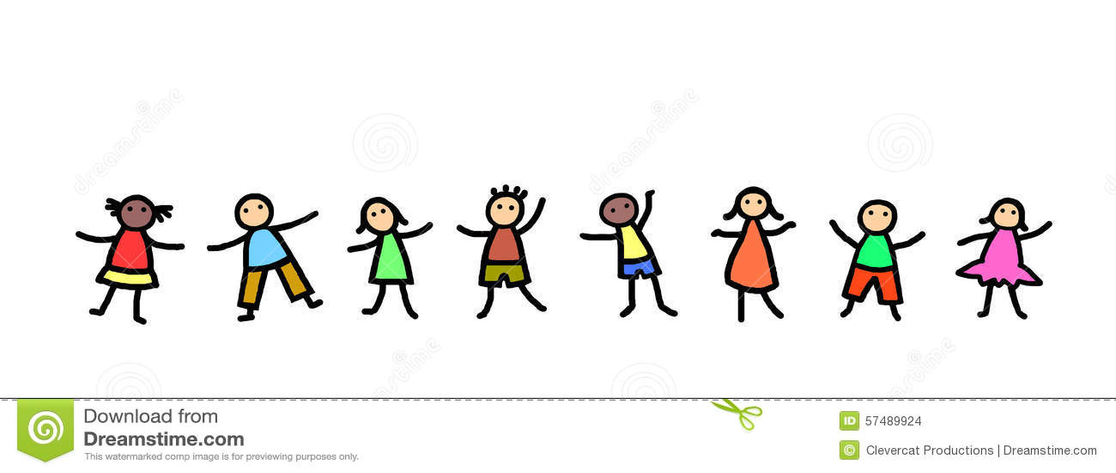 kids dancing illustration stock illustration image 57489924 Someone Dancing Party Clip Art