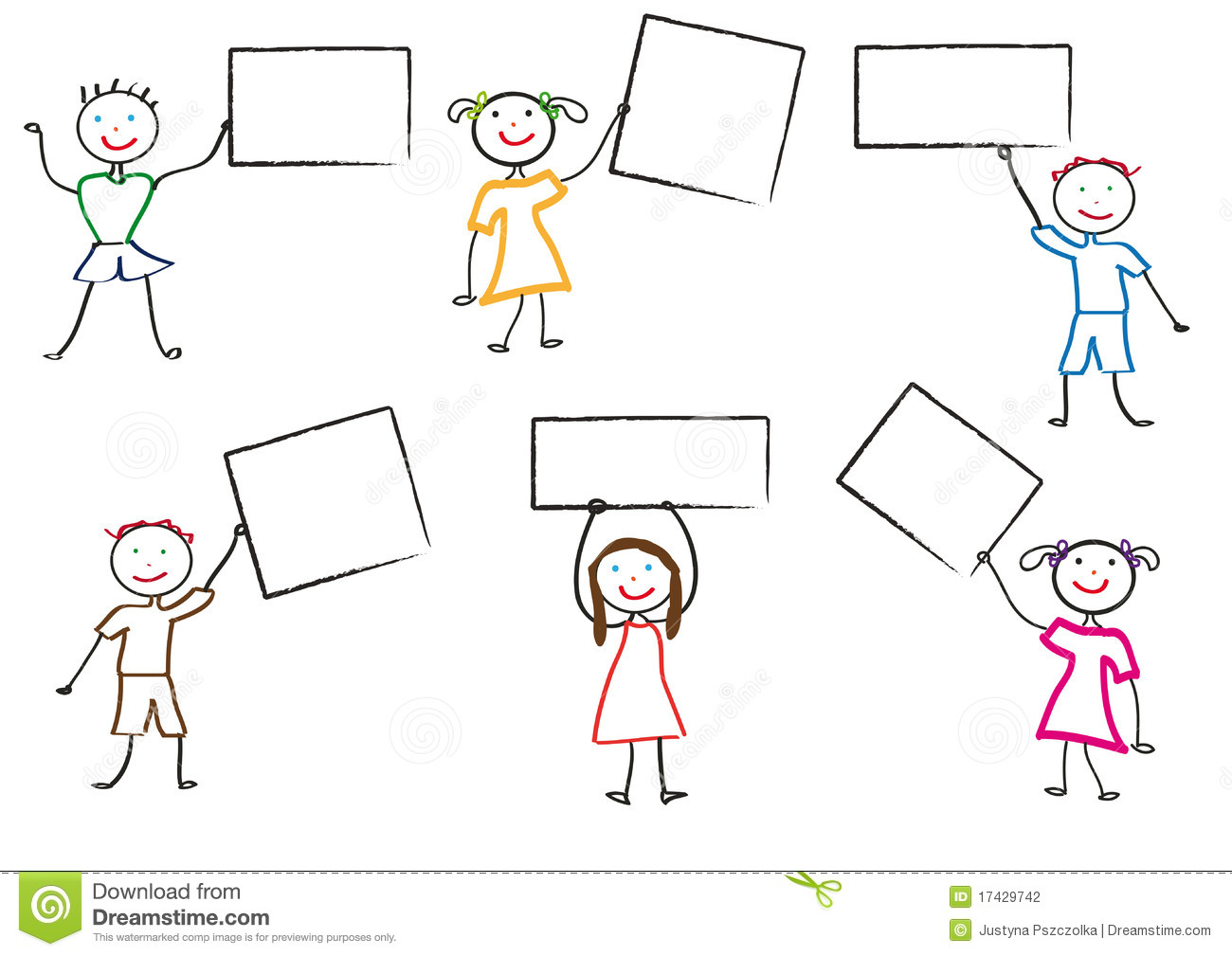 Kids Drawing Stock Photography Image 17429742