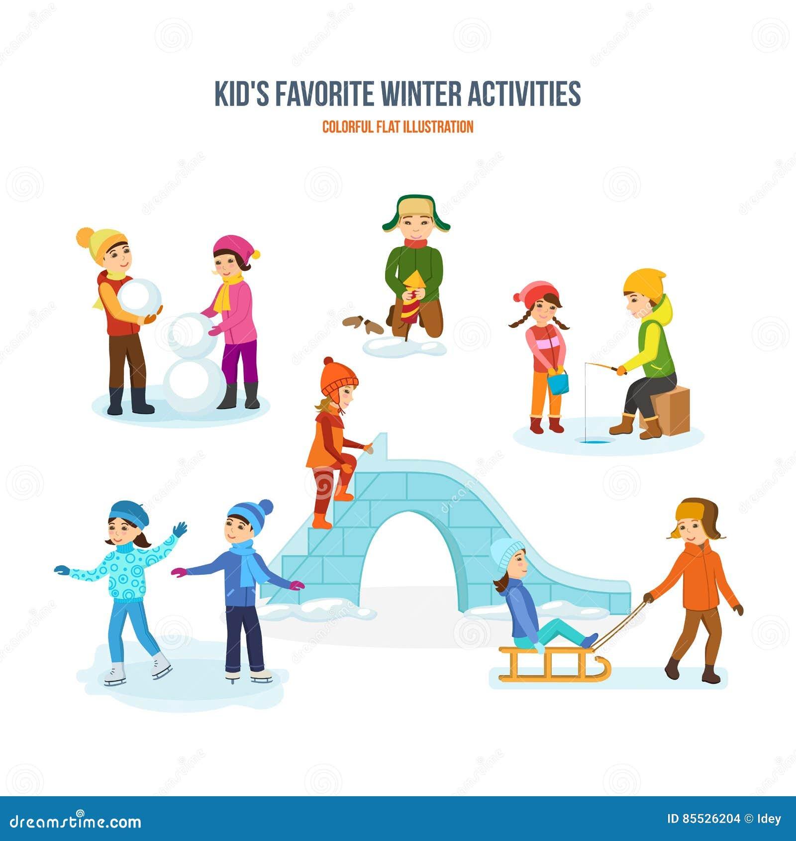 kids favorite winter activities snowman  fireworks ice skate clip art free ice skate clip art free