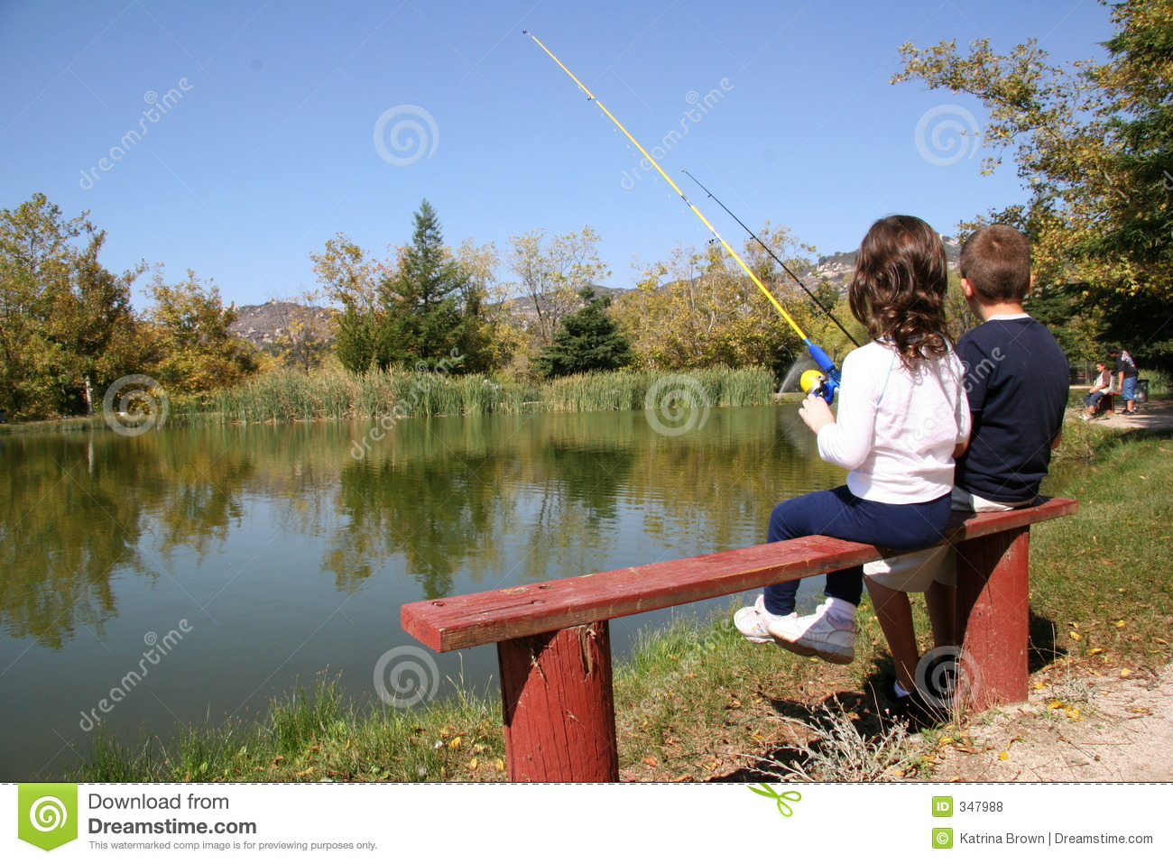 Kids fishing royalty free stock photos image 347988 for Fishing times free