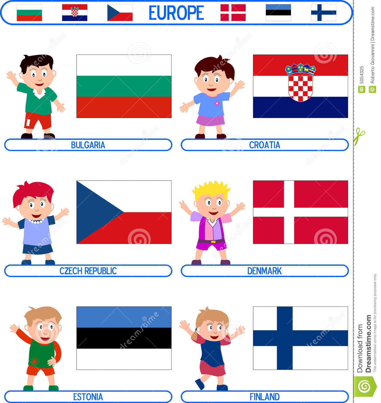 Uncategorized Flag For Kids kids flags europe 2 royalty free stock photo image 5054325 download flags