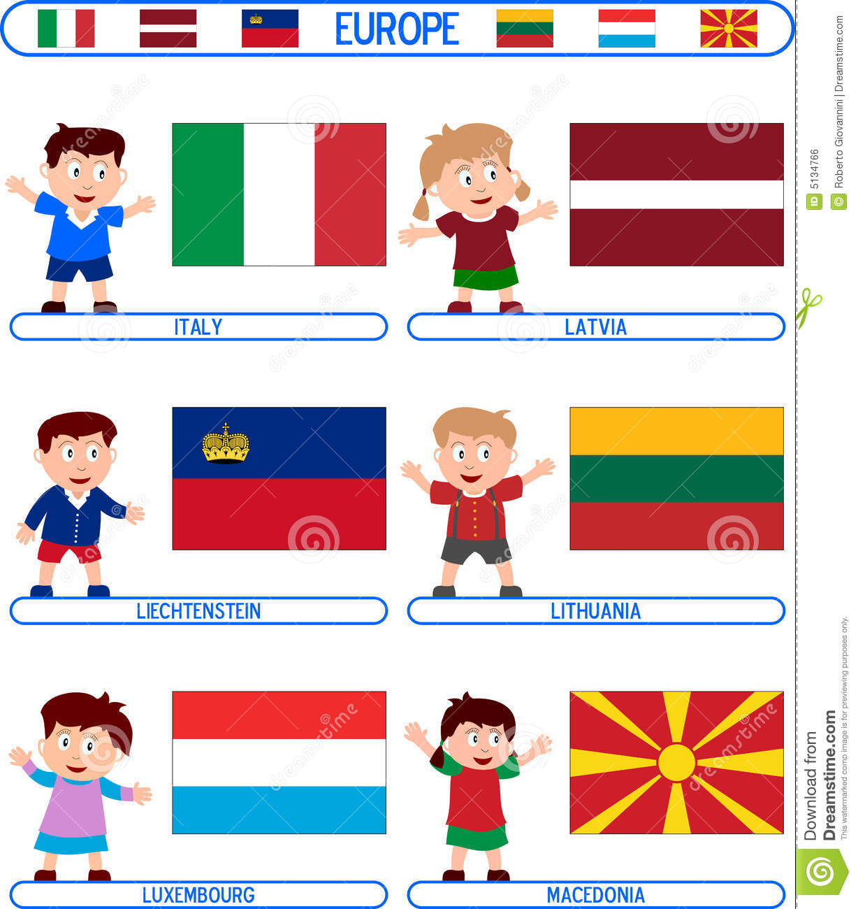 Uncategorized Flag For Kids kids flags europe 4 royalty free stock image 5134766 photo download flags