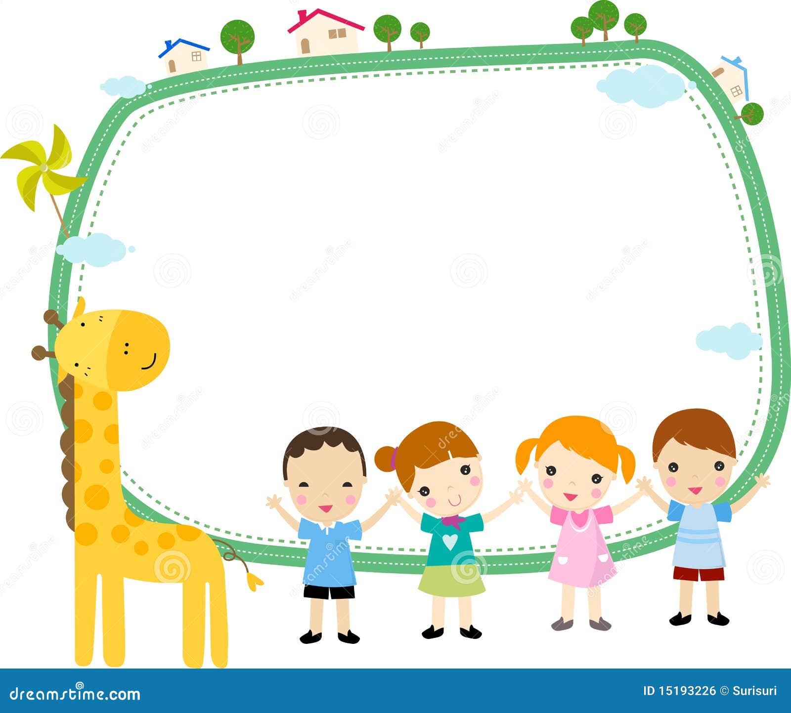 Royalty Free Stock Image Kids Frame Image15193226 on Shapes Art For Preschool