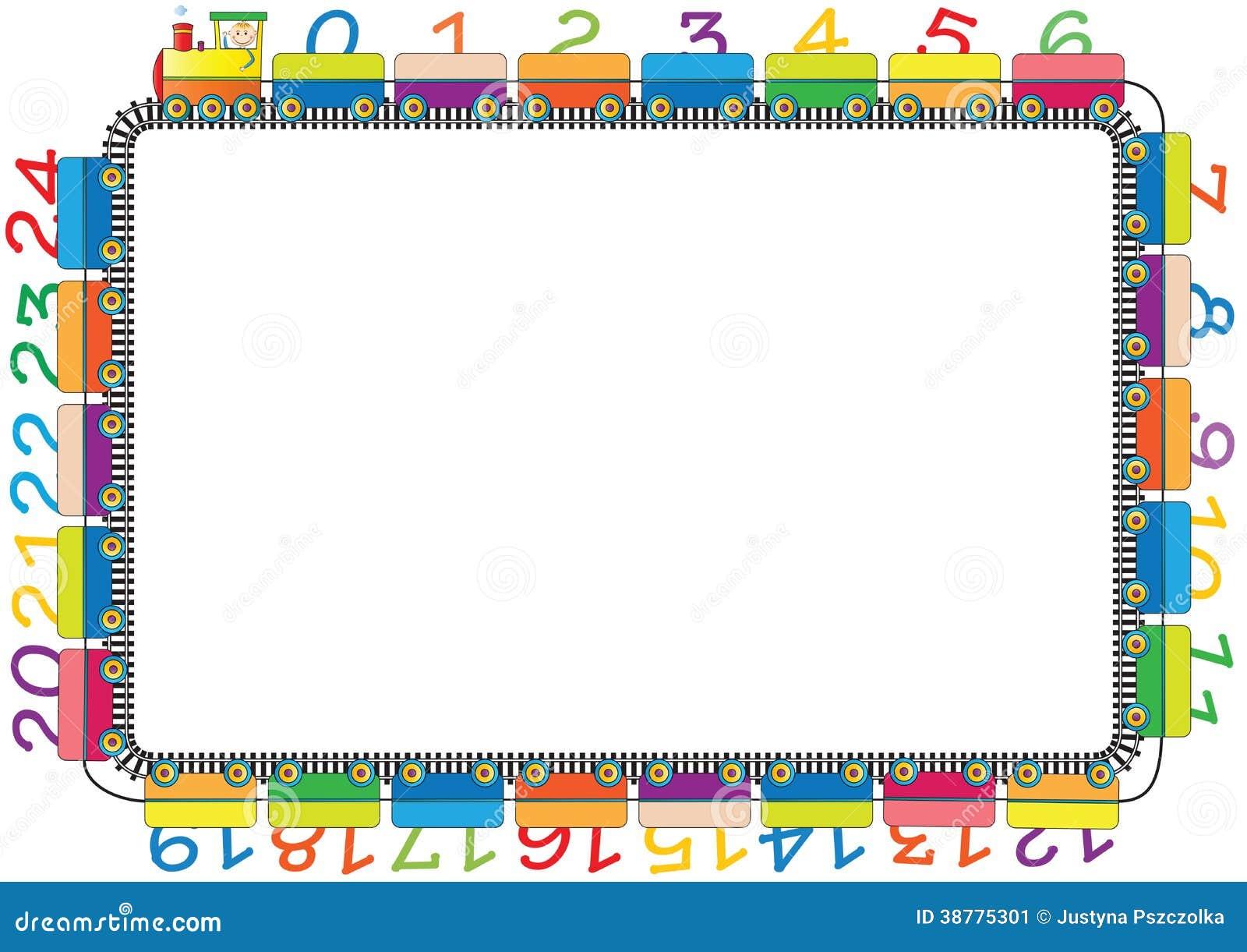 Kids frame stock vector. Illustration of back, circle - 38775301