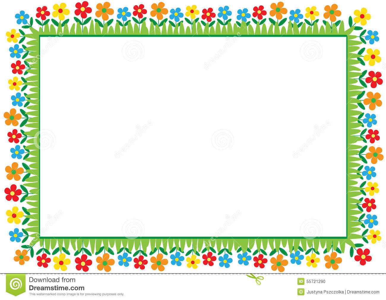 Kids frame stock vector. Illustration of embellish ...