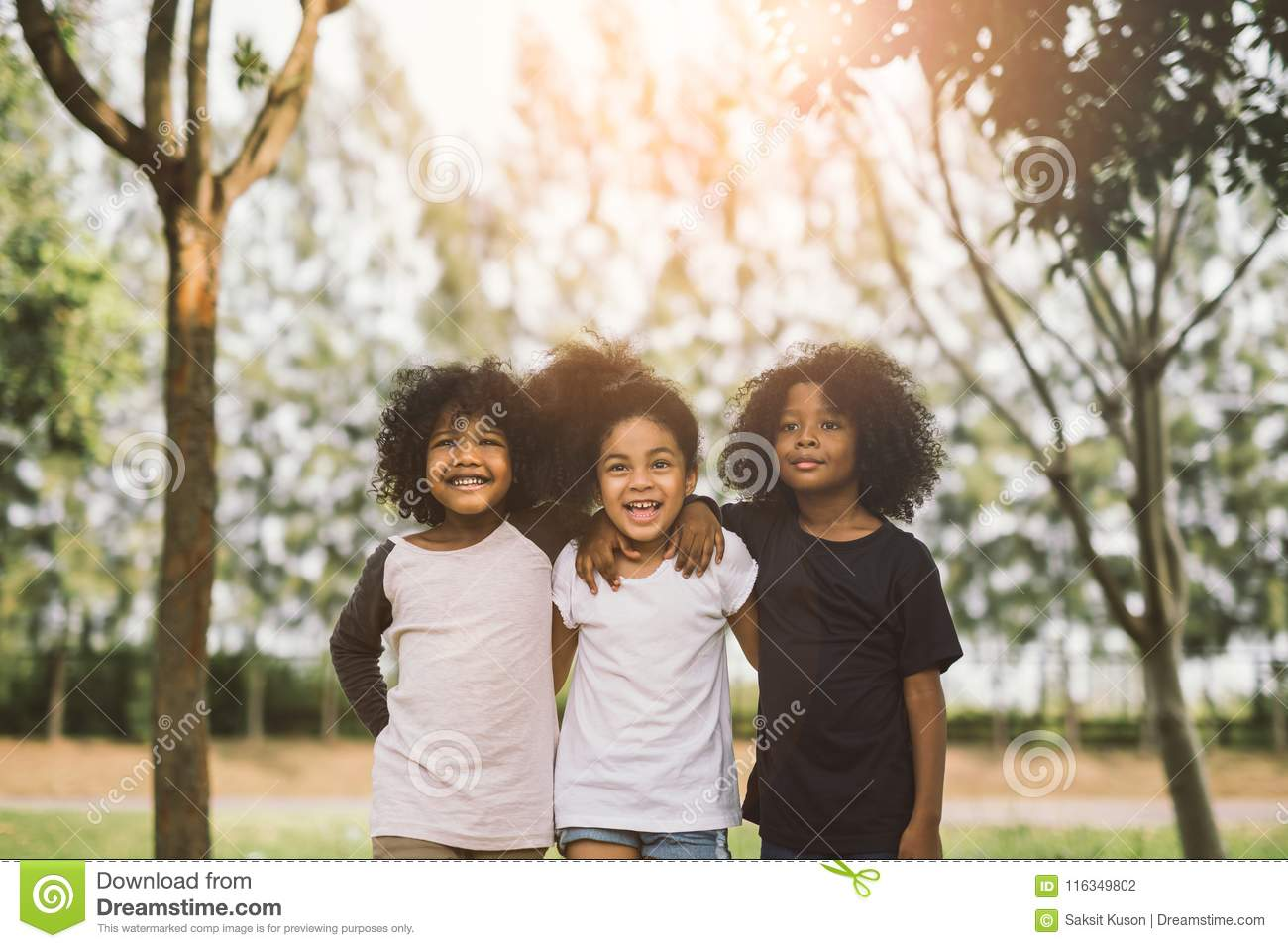 Kids Friendship Stock Photo Image Of Girls Cute Friends 116349802