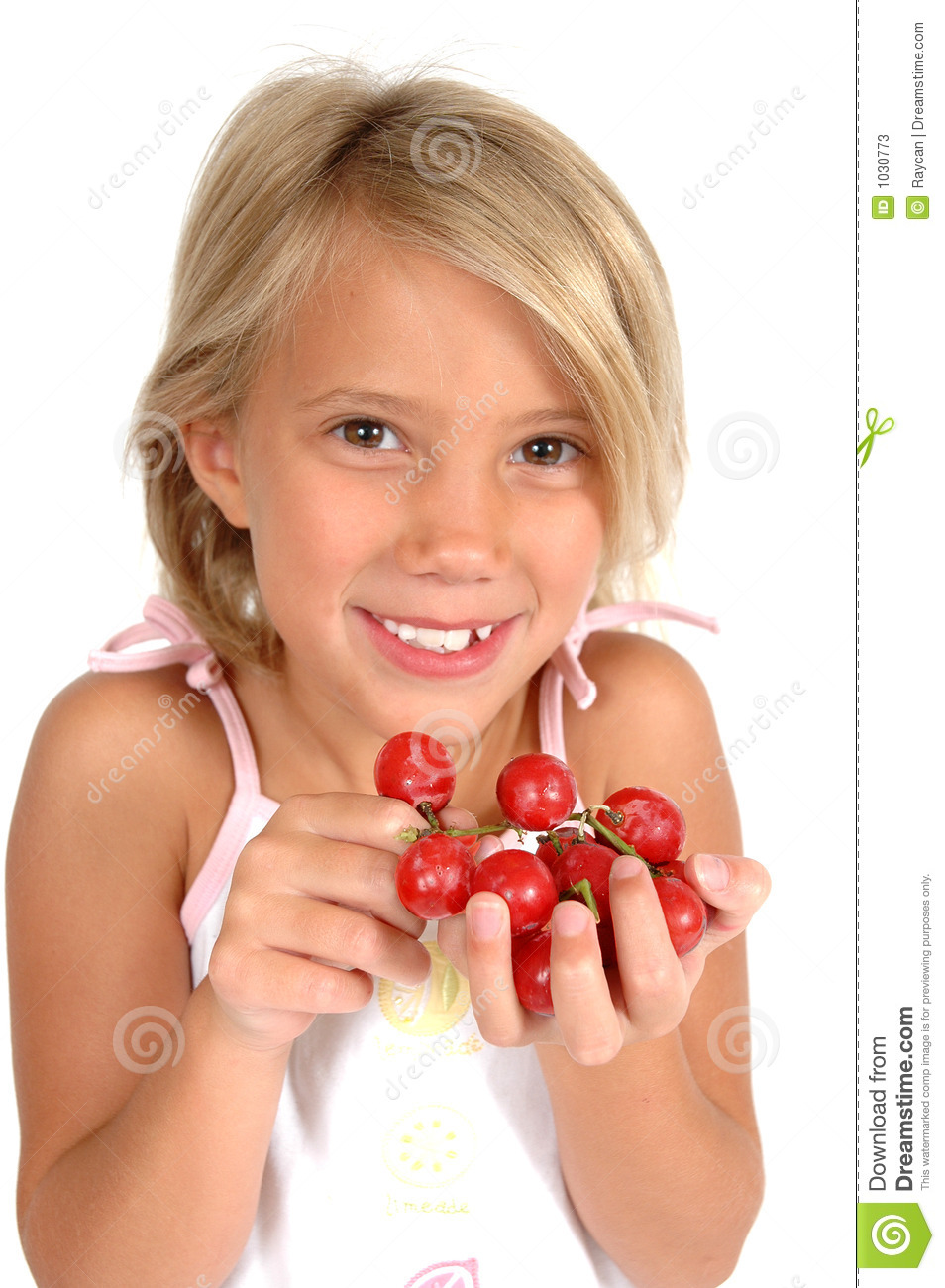 Kids and Fruit