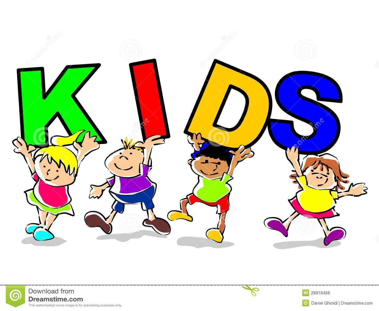 Kids Funny Illustration Royalty Free Stock Image - Image ...