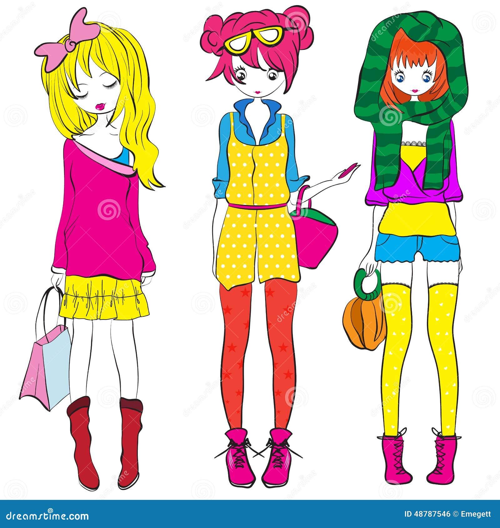 Shirt design in girl - Kids Girl Paris Teenage T Shirt Design Royalty Free Stock Image