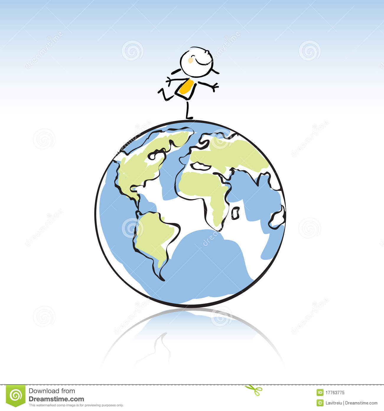 6e7c5cc35197 Kids with globe stock vector. Illustration of graphic - 17763775