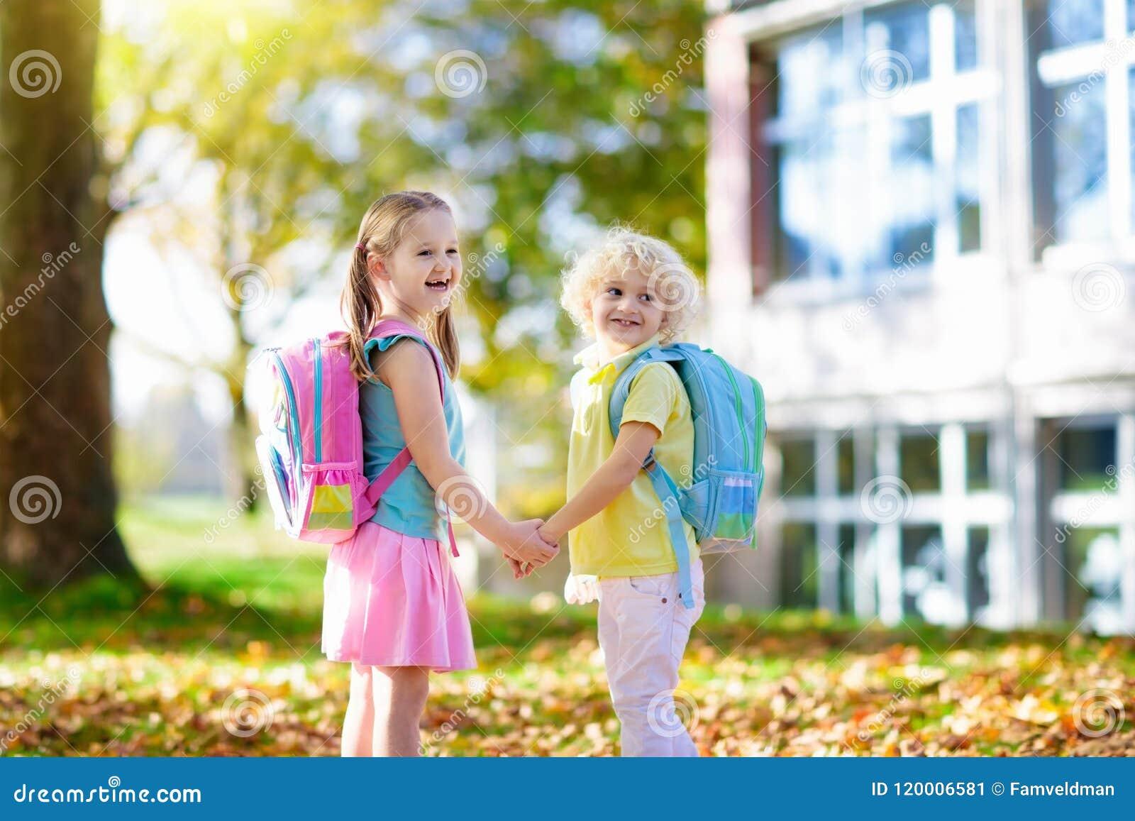 kids go back to school child kindergarten children go back to school start new school year summer vacation boy 120006581 - When Do Kids Go To Kindergarten