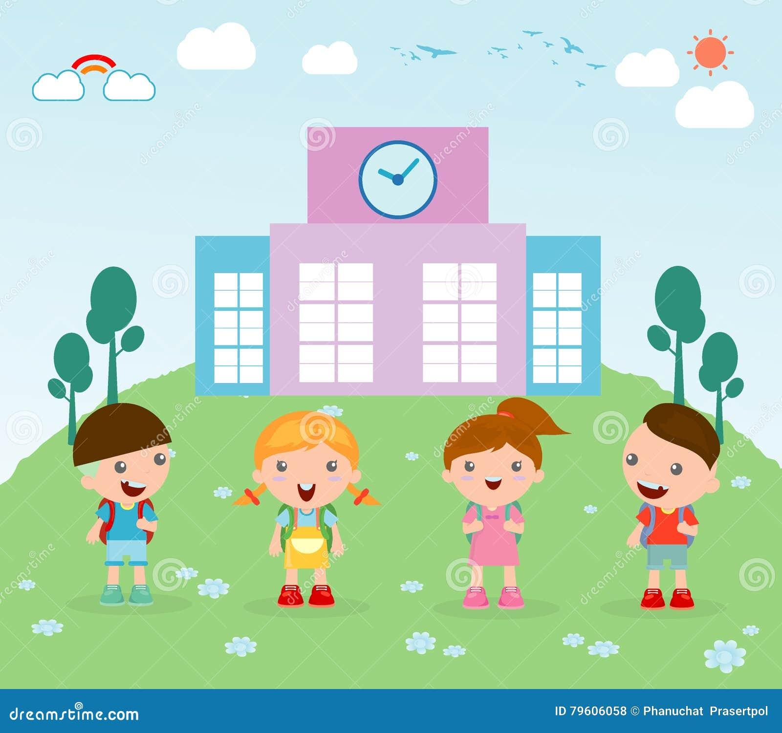 Cartoon Child - Illustration For The Children Stock Illustration ...