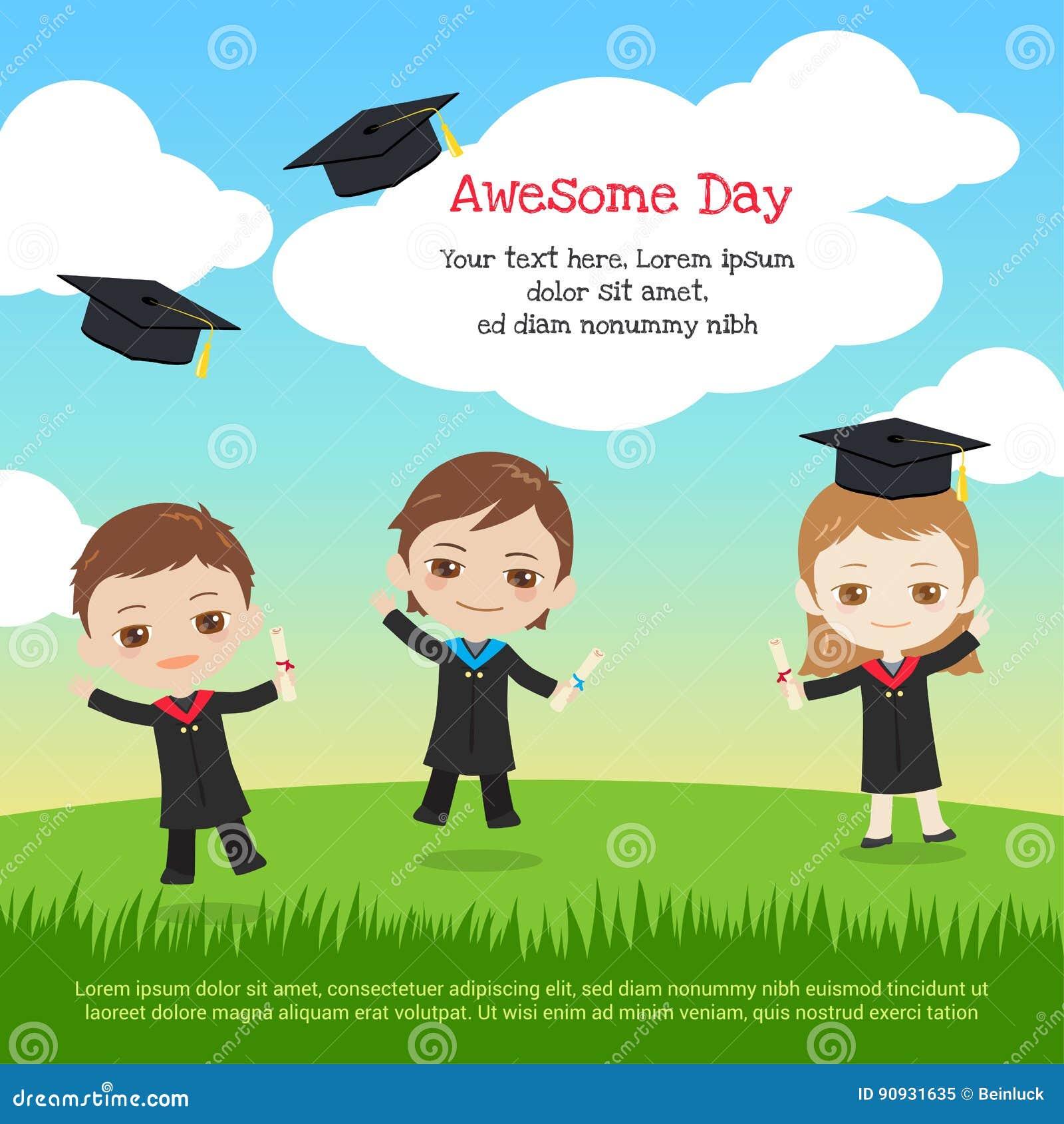 Kindergarten Graduation Stock Illustrations – 811 Kindergarten ...
