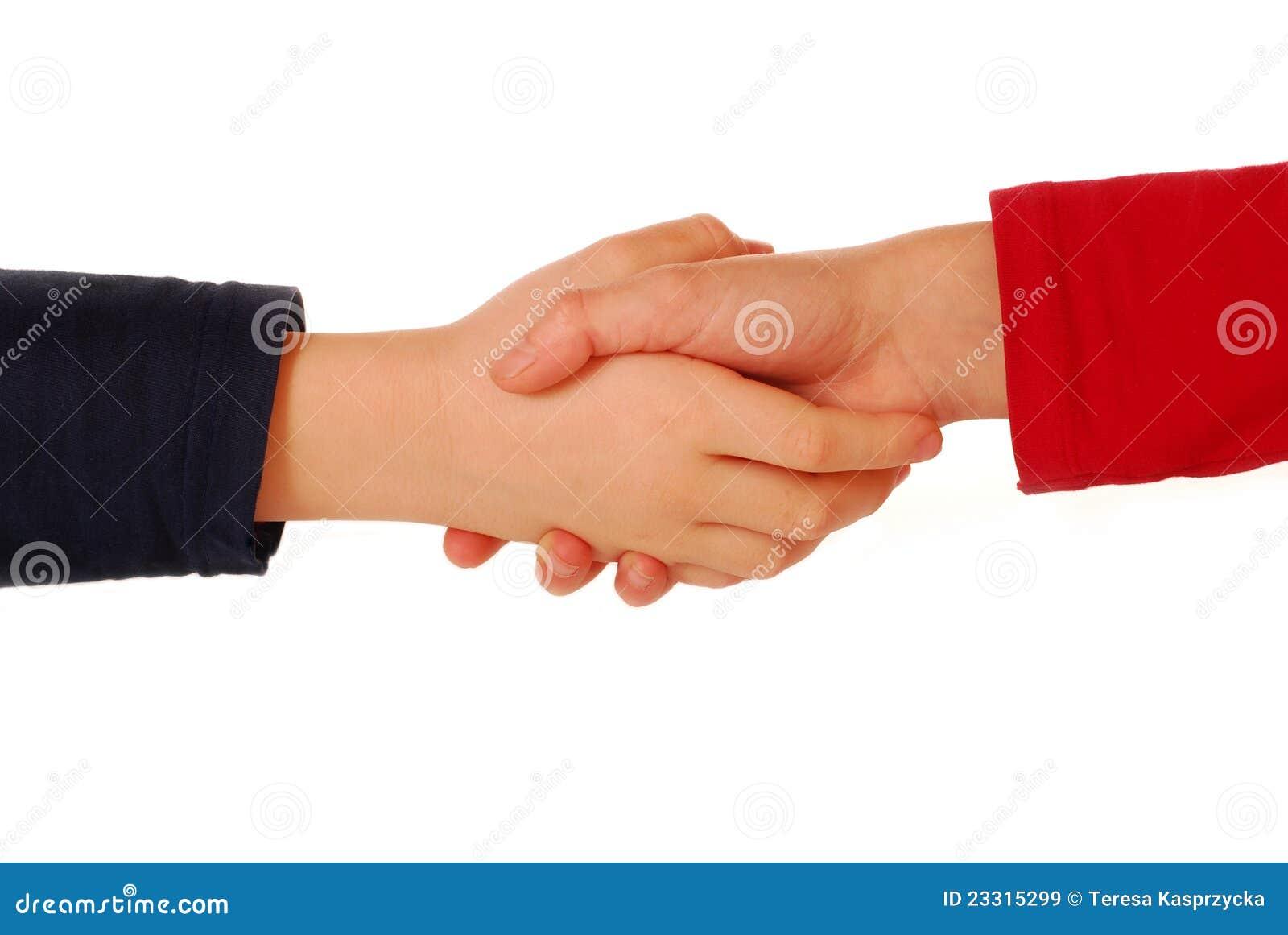 children handshake clipart - photo #27