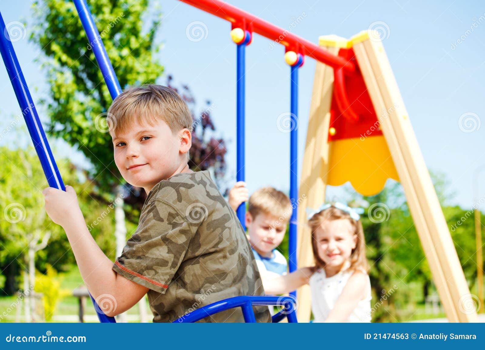 Kids Having Fun Stock Photos - Image: 21474563