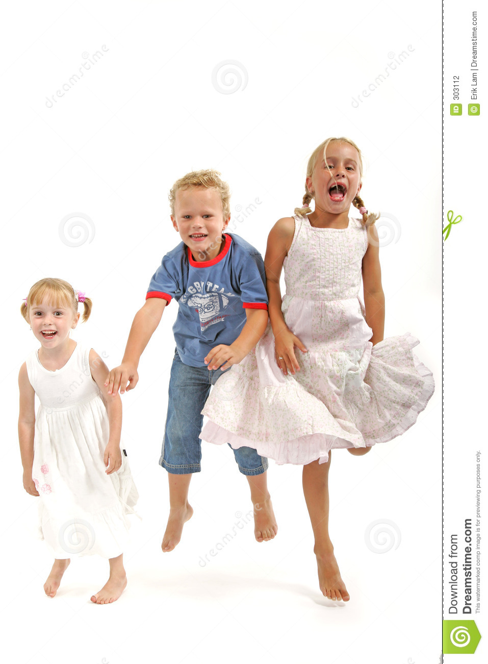 Kids Having Fun Stock Photography Image 303112