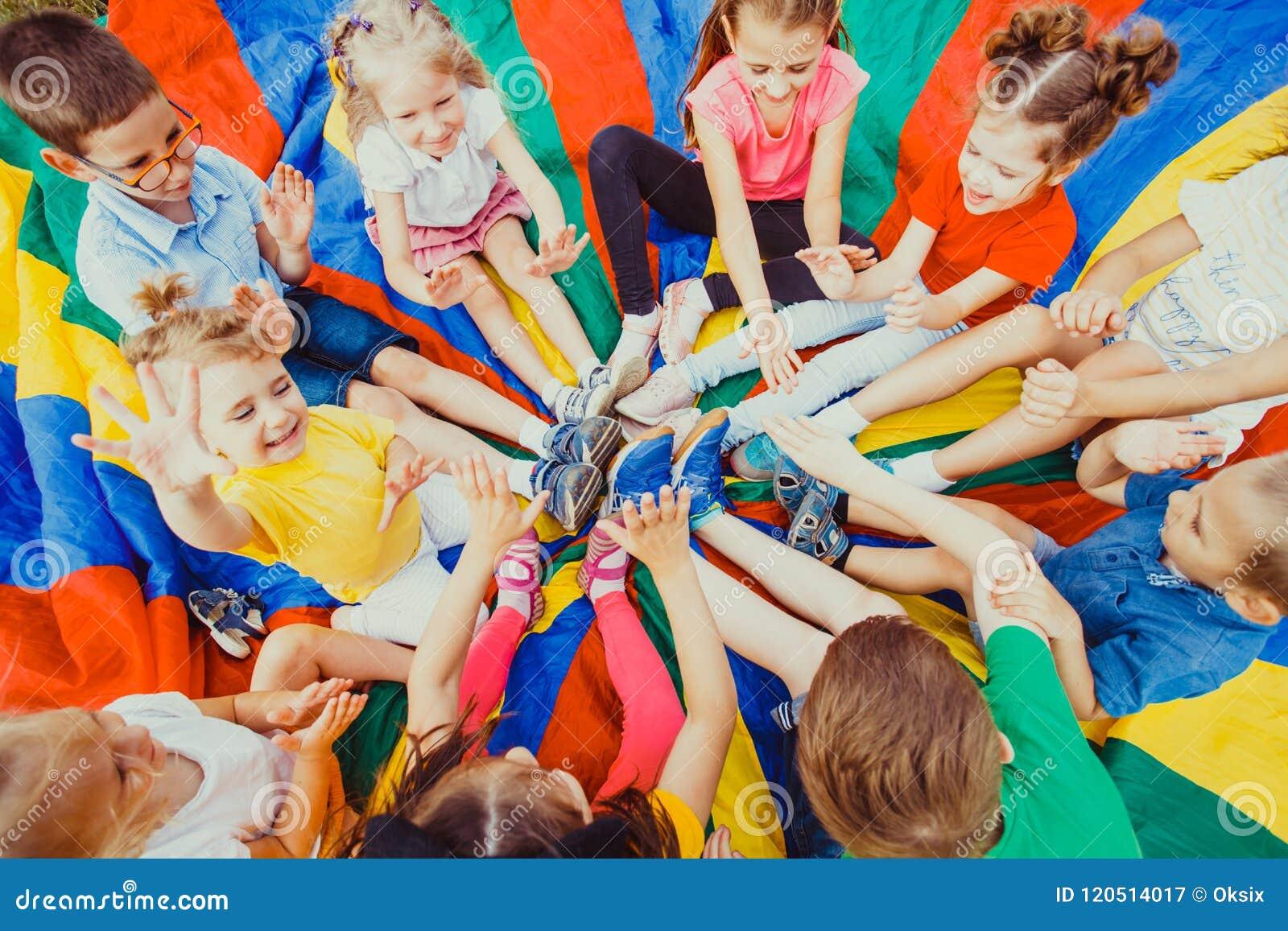 Download Kids Holding Hands Together Stock Image - Image of activity, garden: 120514017
