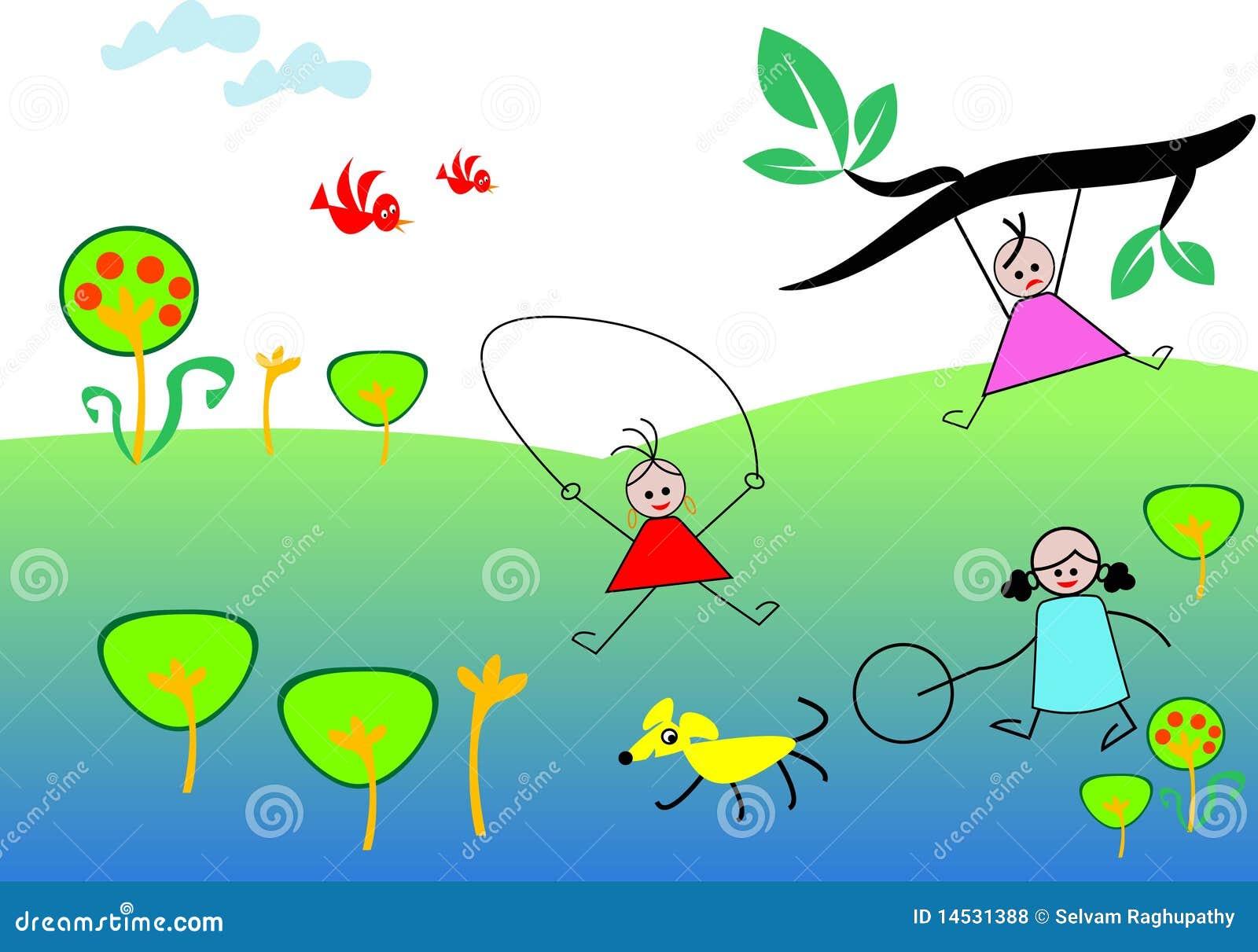 cartoon illustrated - Holiday Cartoon Images