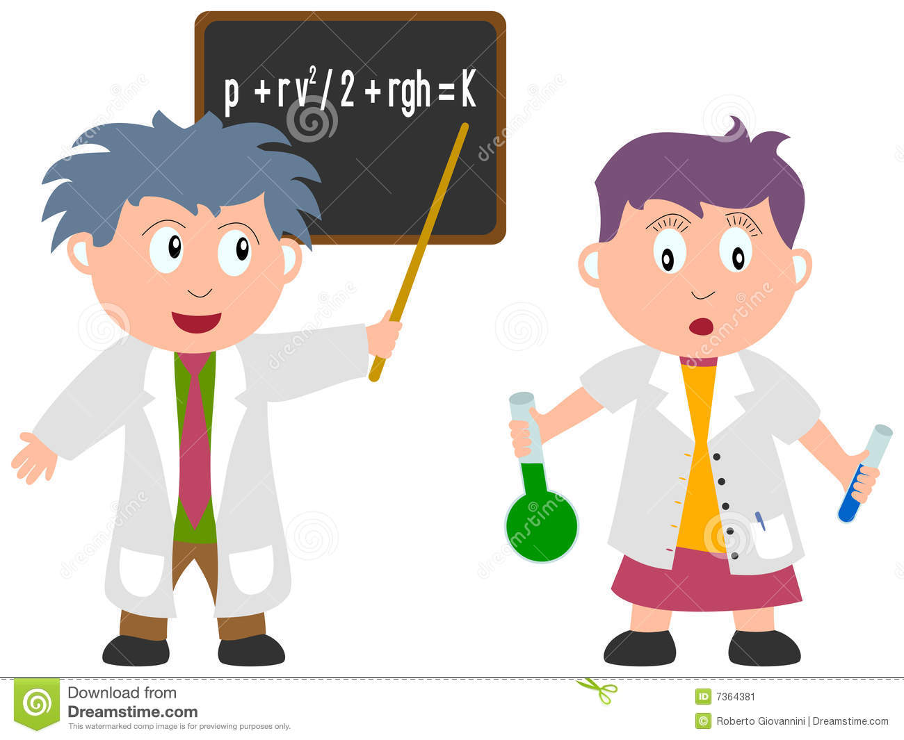 Kids And Jobs - Science Stock Image - Image: 7364381