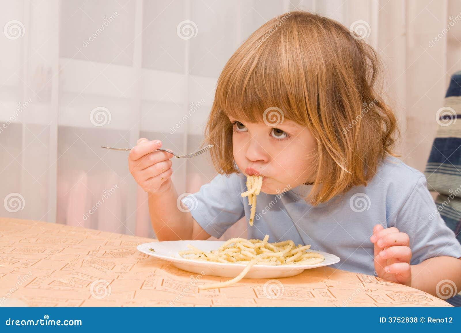 Kids love pasta
