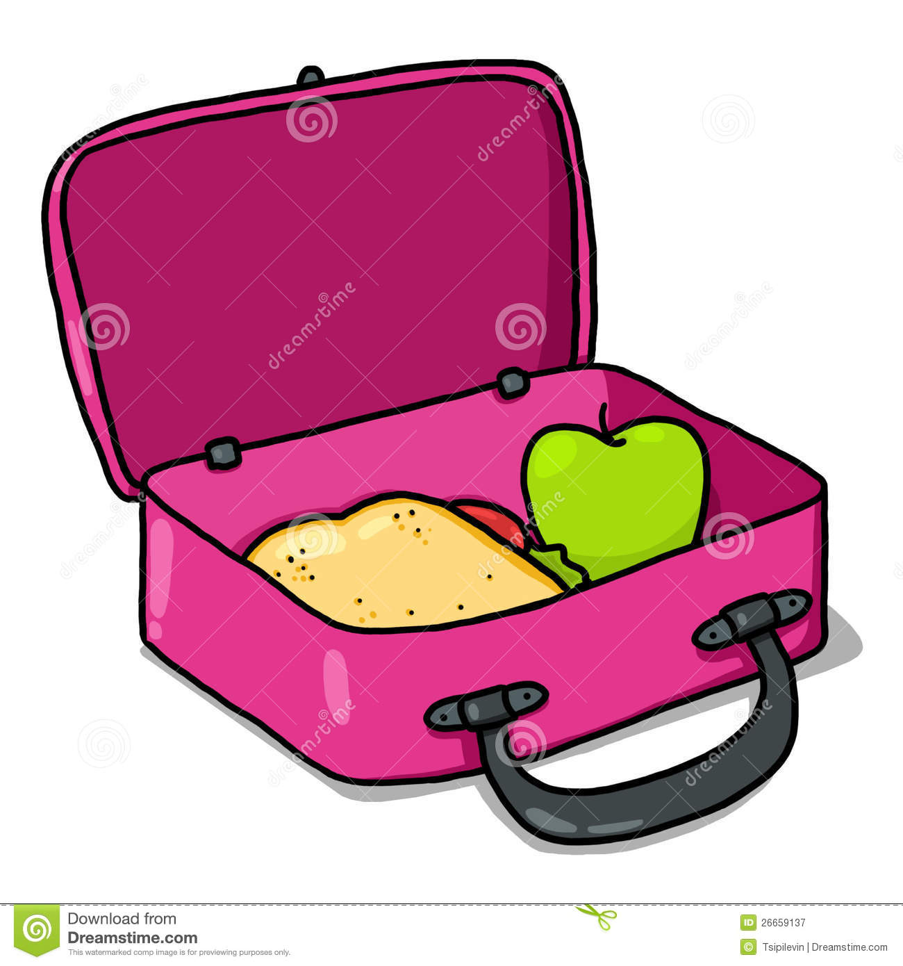 Lunch Box Stock Illustrations 6633 Lunch Box Stock Illustrations