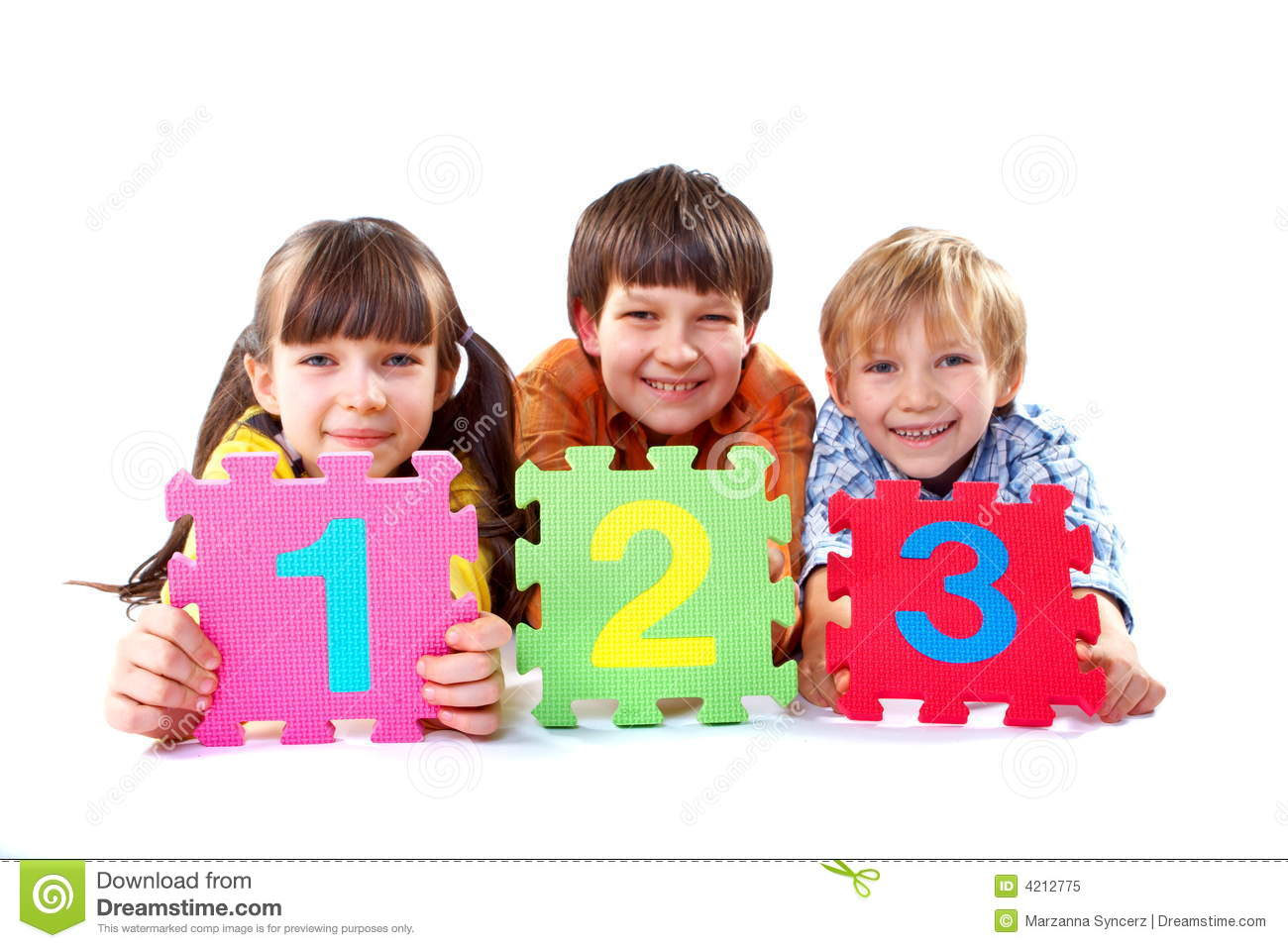 Http Www Dreamstime Com Royalty Free Stock Photo Kids Numbers Image4212775