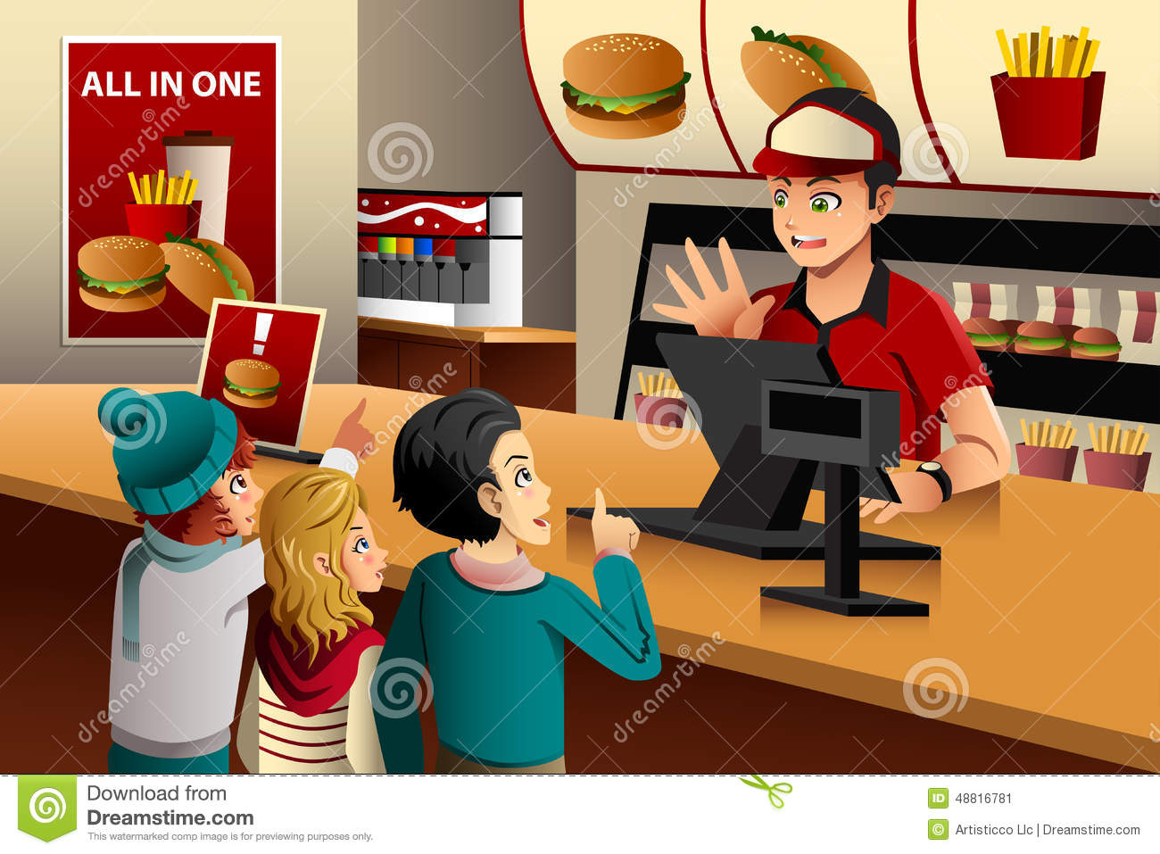 Restaurant Clip Art Family Fast Food