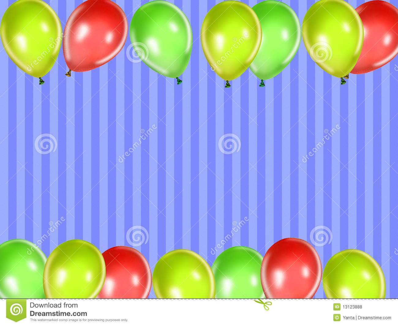 Kids Party Background Stock Illustration Image Of Holiday