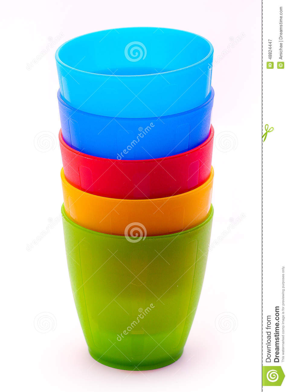 Kids plastic cups stock photo image 48824447 - Cups and kids ...