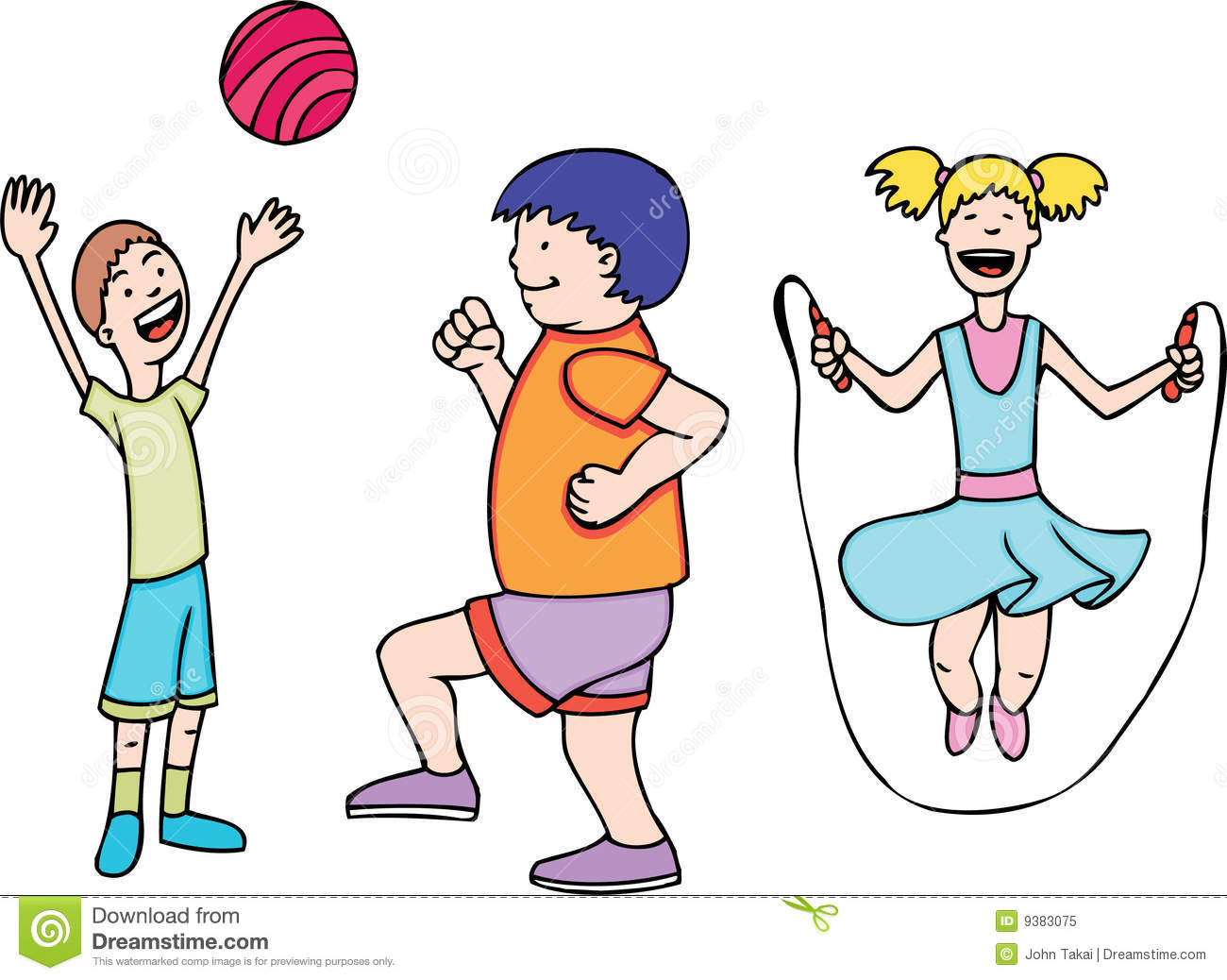 children exercise - Exercise Pictures For Kids