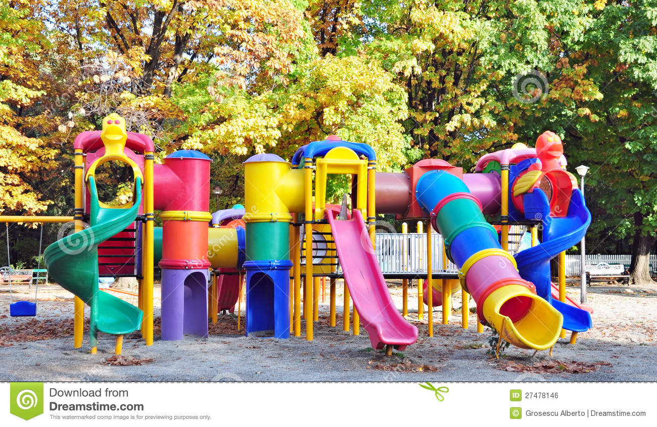 Kids playground stock photo. Image of colors, domestic ...