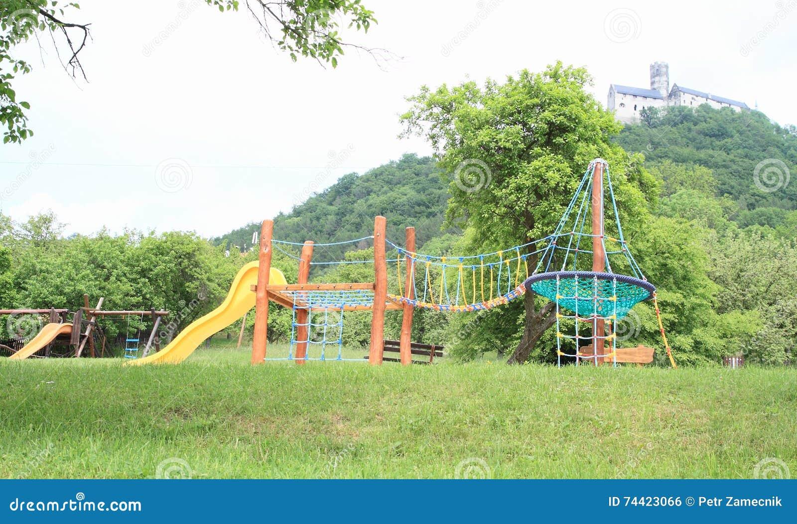 Kids playground under Castle Bezdez