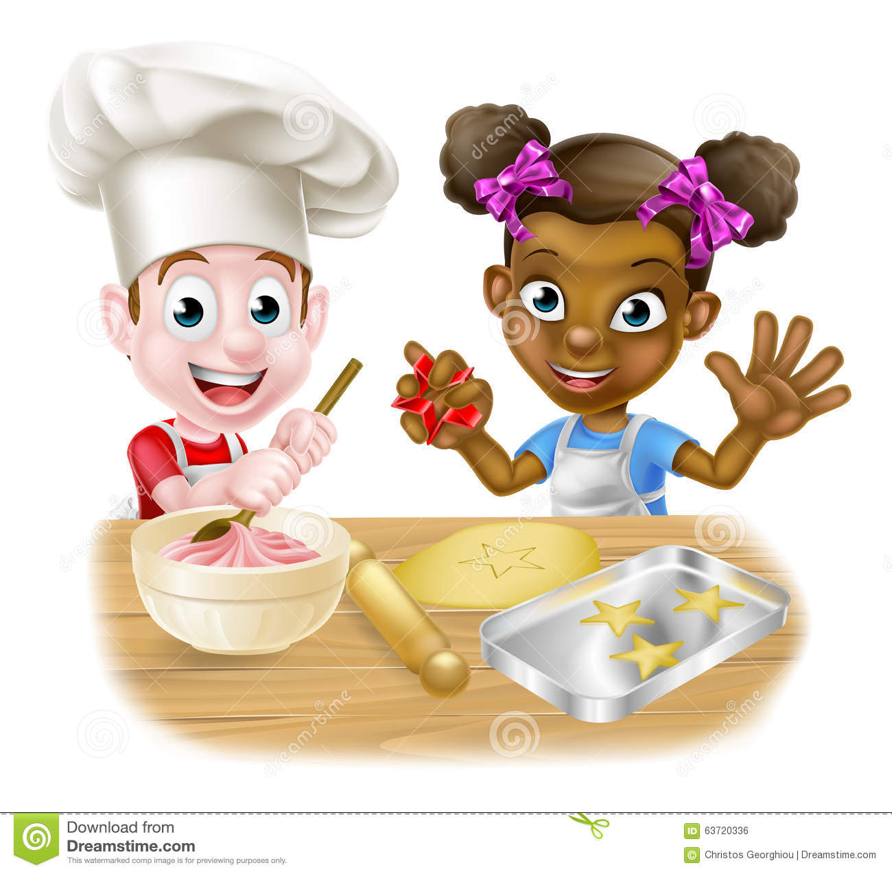 Baking Cakes With Toddlers