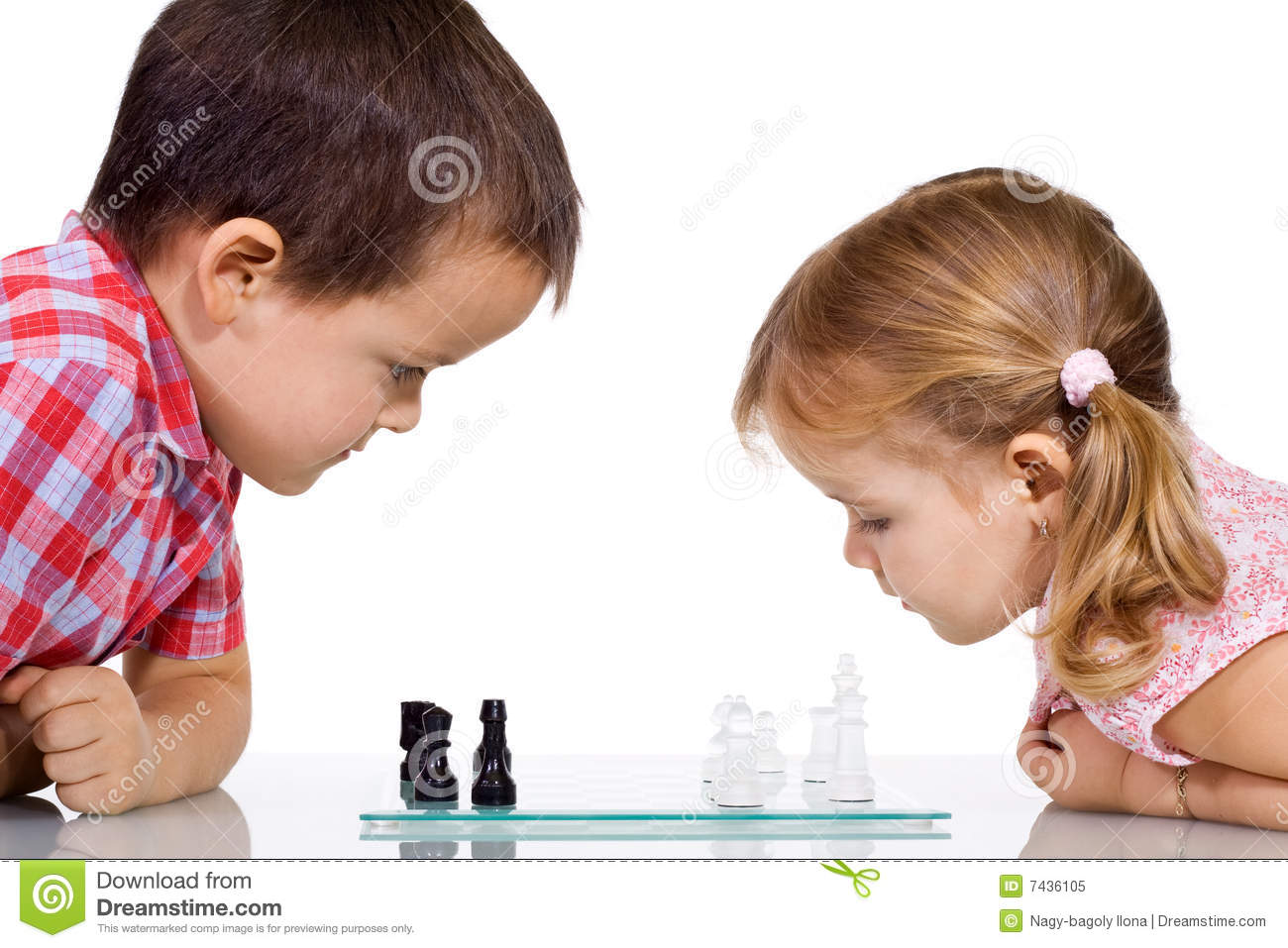 Kids Playing Chess Roy...