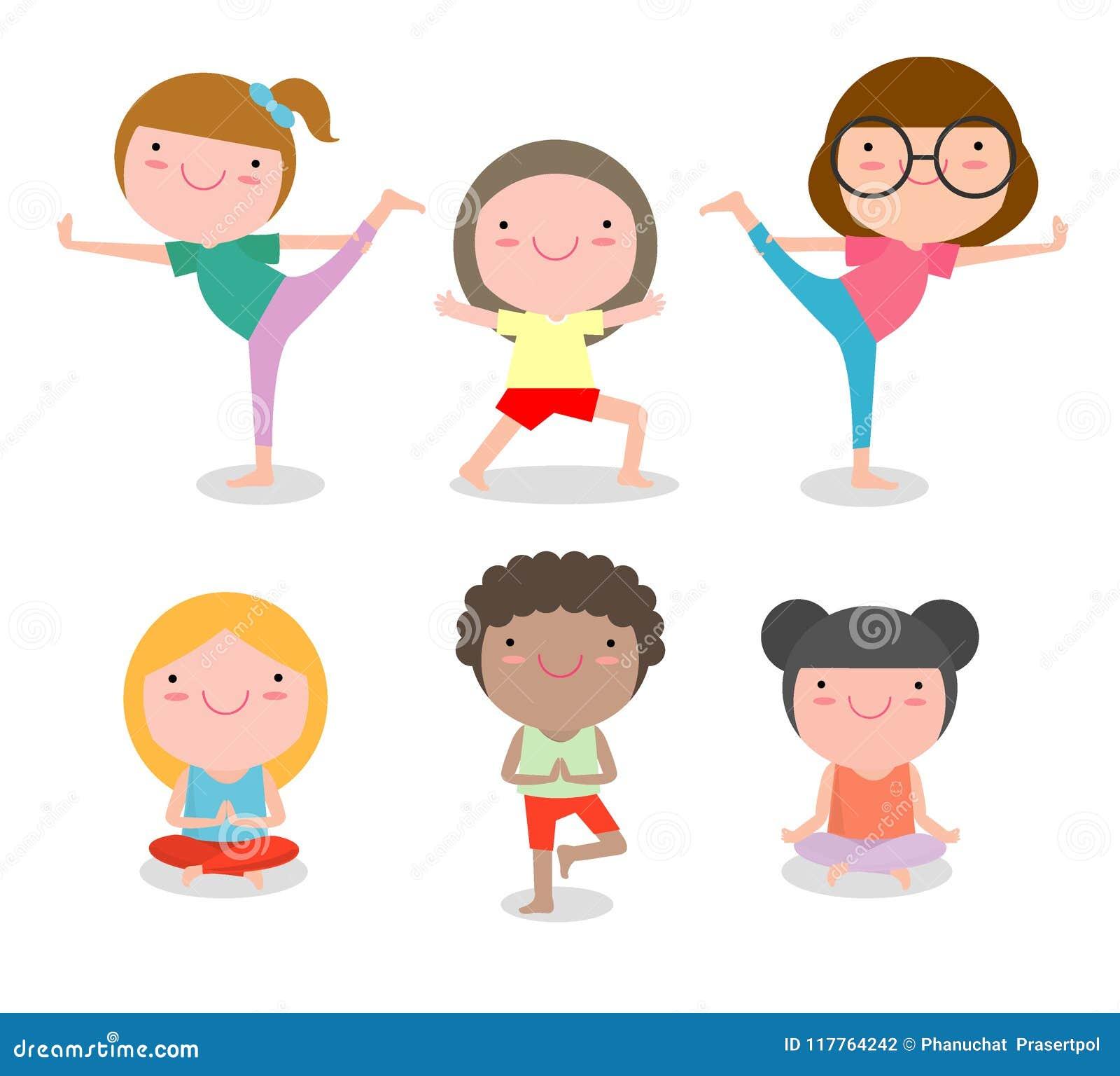 Children Yoga Stock Illustrations 3 319 Children Yoga Stock Illustrations Vectors Clipart Dreamstime
