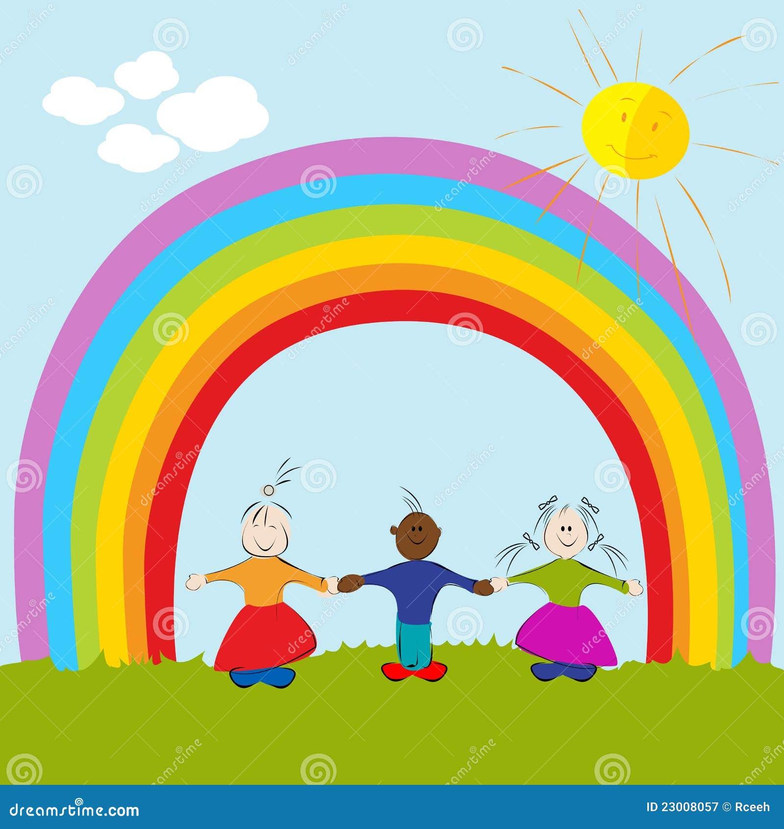 rainbow color wallpaper kids - photo #36