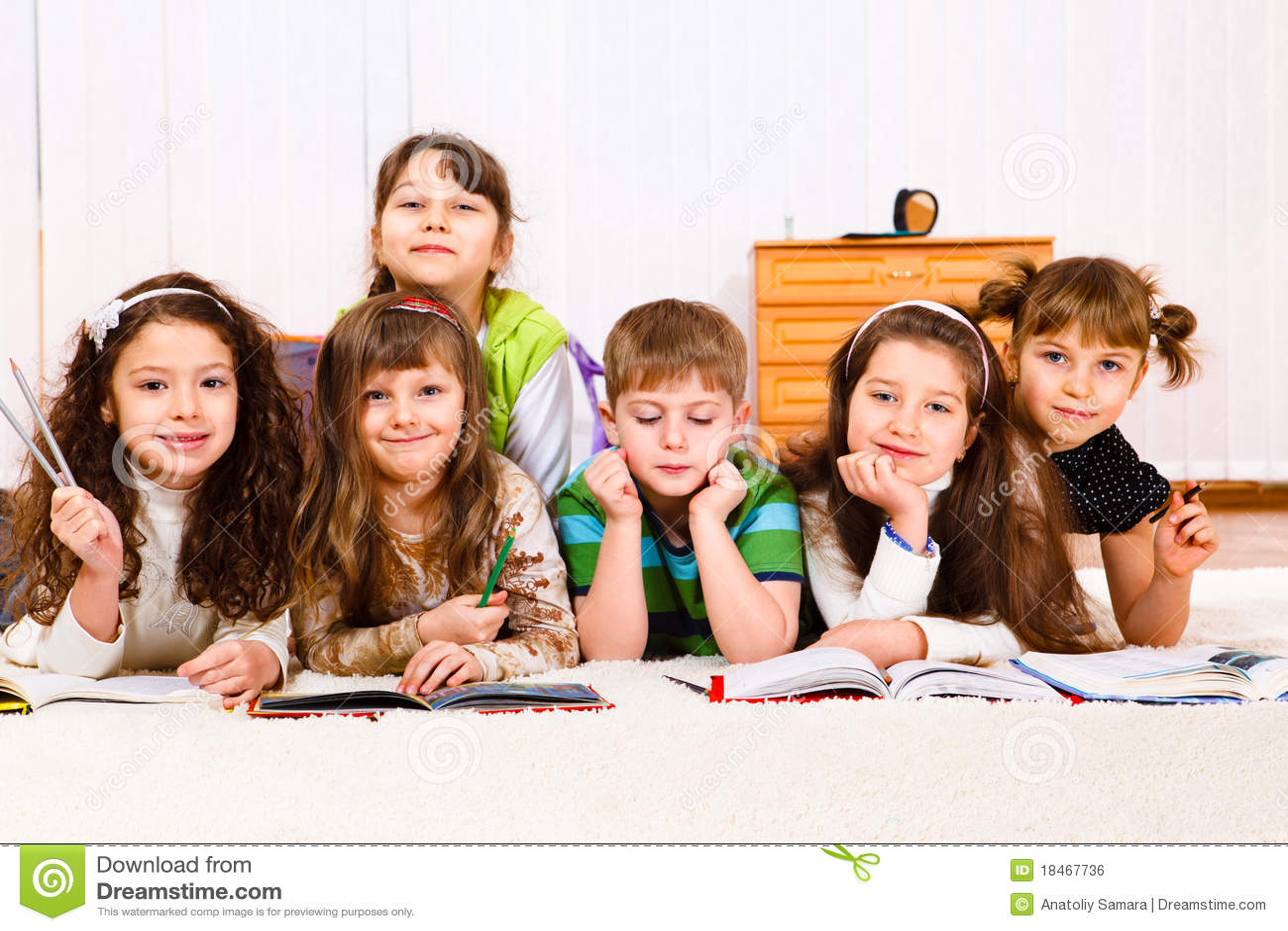 kids reading books royalty free stock image image 18467736