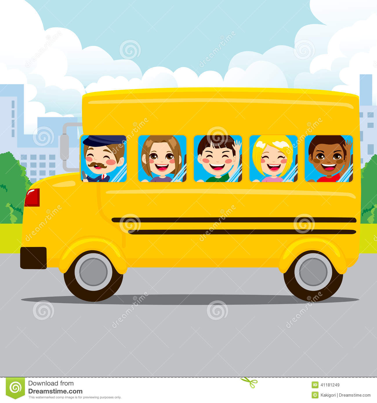 Bus Driver Clipart #1 - Royalty Free Stock Illustrations & Vector ...