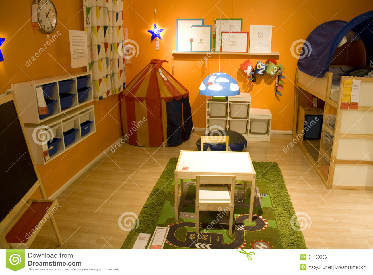Kids Room Furniture Store Editorial Photo Image Of Colorful
