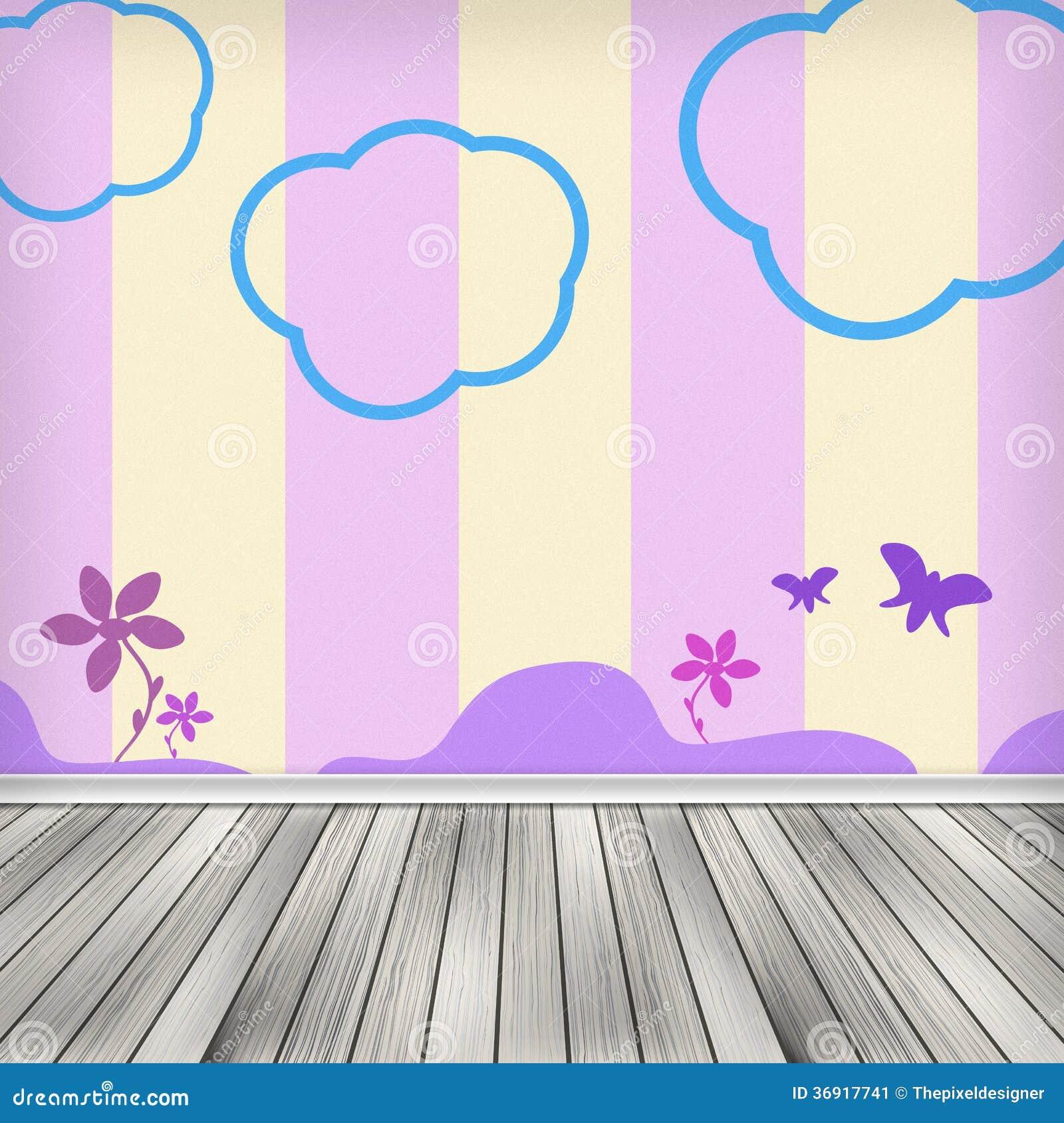Kids Room Interior Stock Image Image 36917741