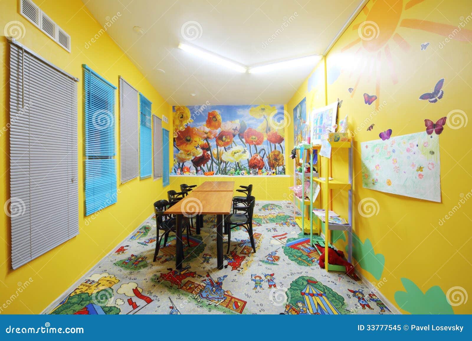 Kids Room Of Restaurant In Neva Cinema Editorial Image