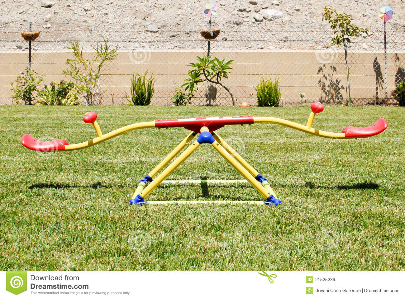 Kids See Saw Royalty Free Stock Images Image 21525289