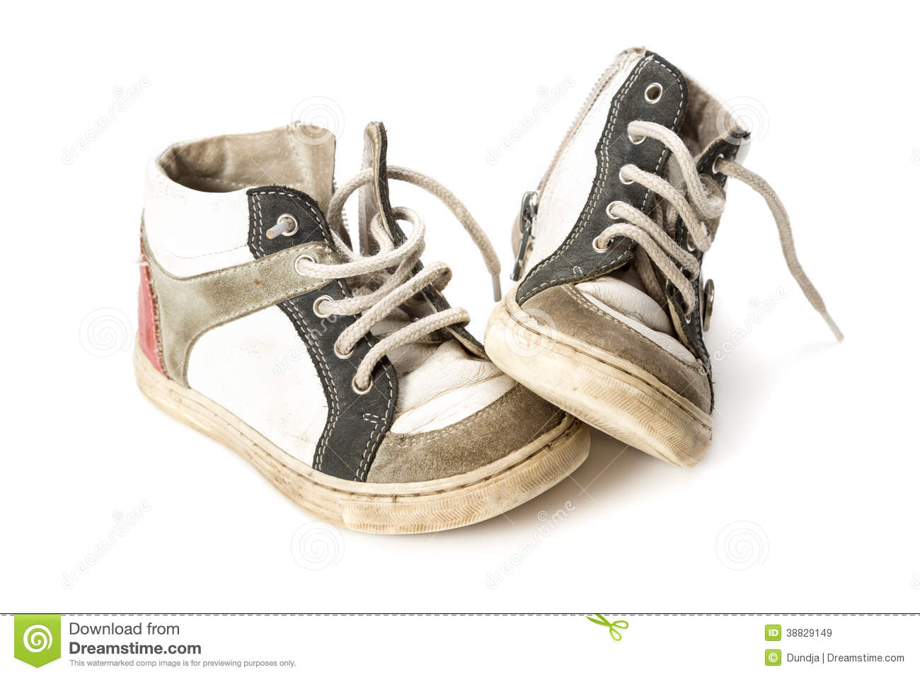 Kids shoes stock image. Image of baby