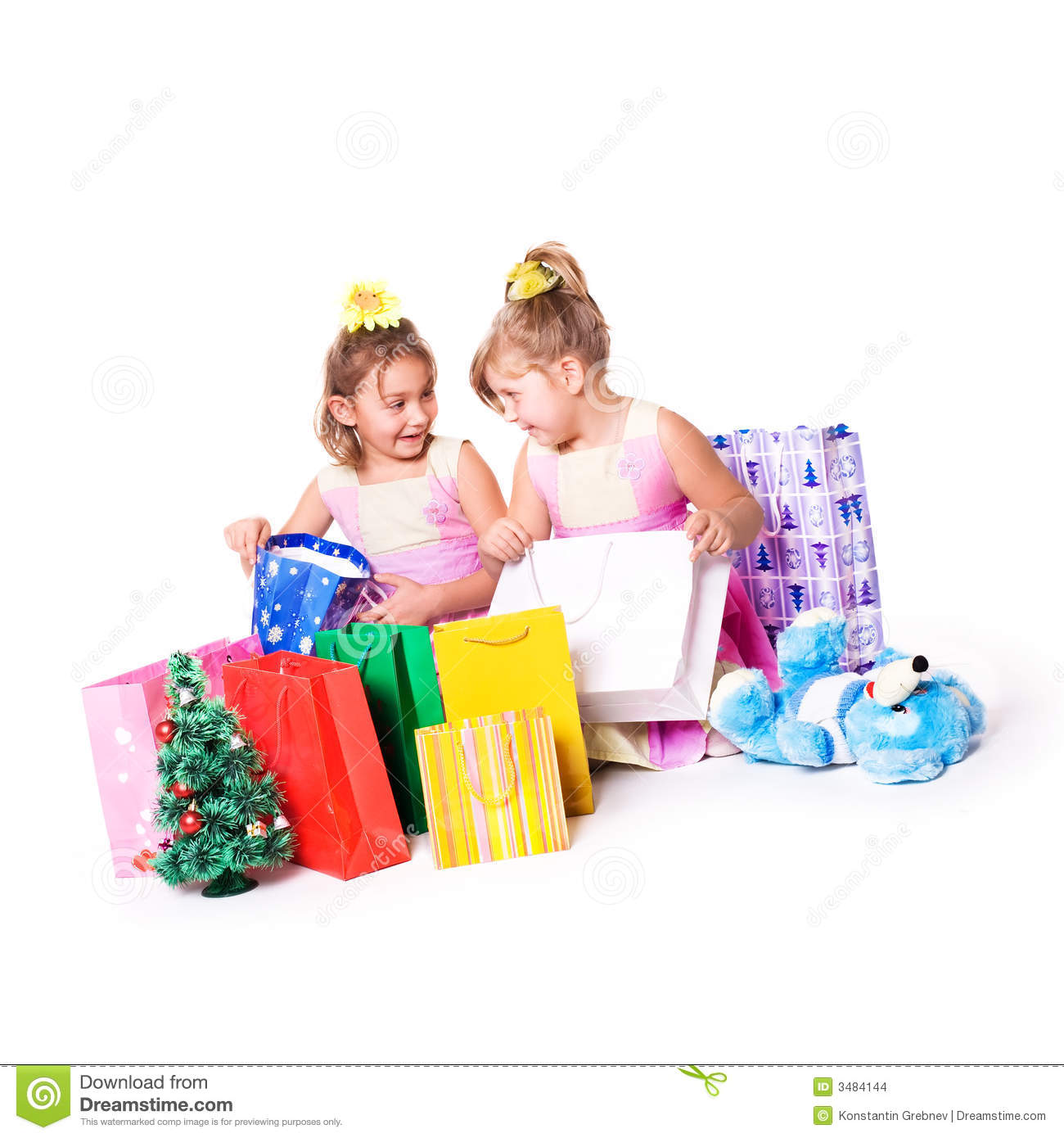 Https Www Dreamstime Com Stock Images Kids Shopping Image3484144