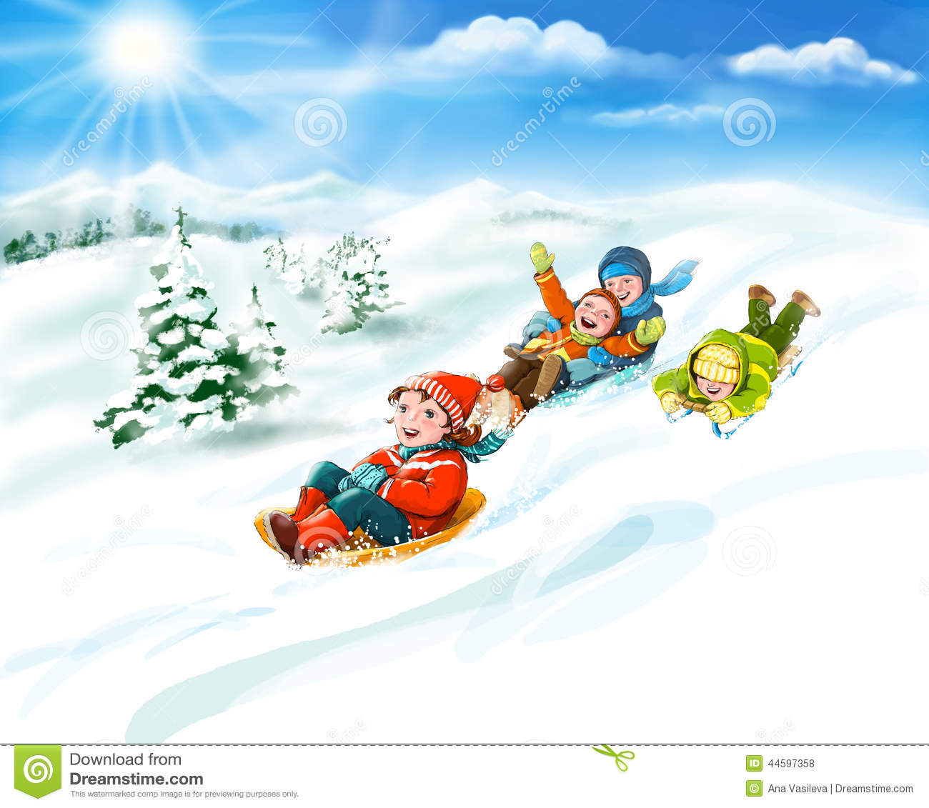 winter vacation clipart - photo #11