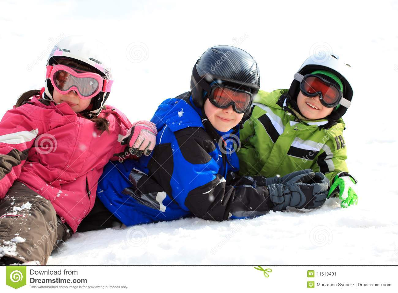b77f38c17c34 Kids in snow gear stock image. Image of brother